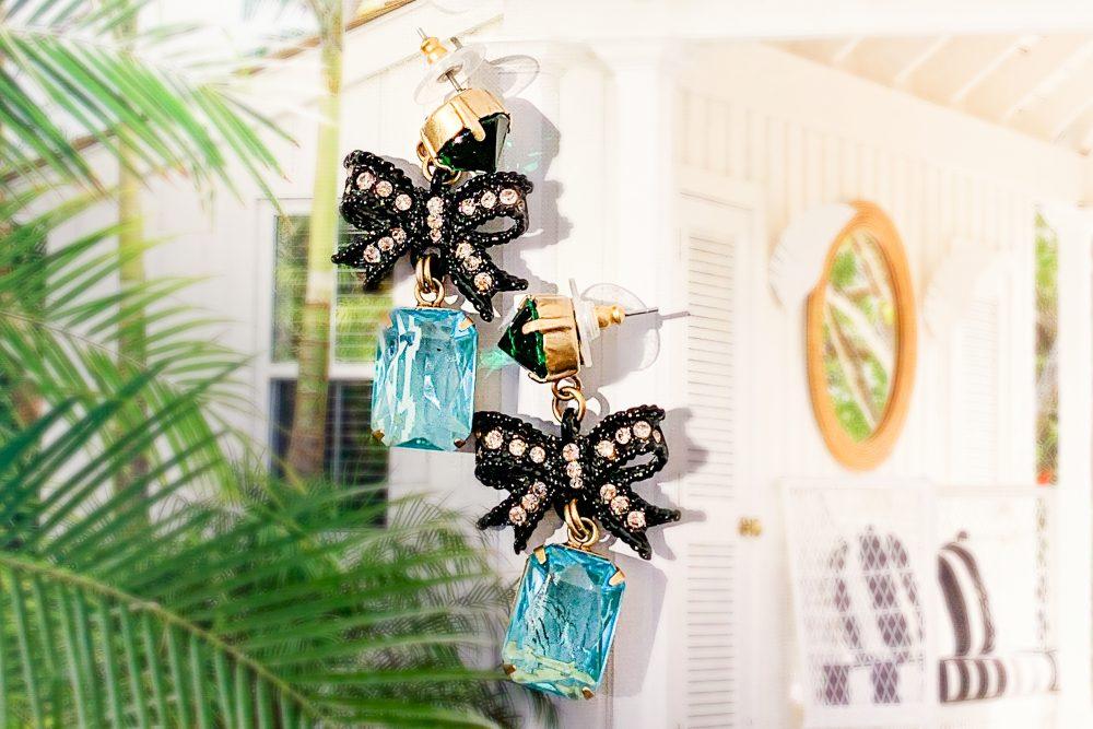 Loren Hope - Bow Earrings - www.ashleybrookedesigns.com h