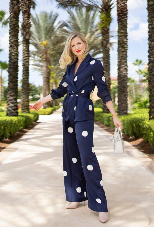Polka Dot Fashion - The perfect lady suit on Ashley Brooke Designs
