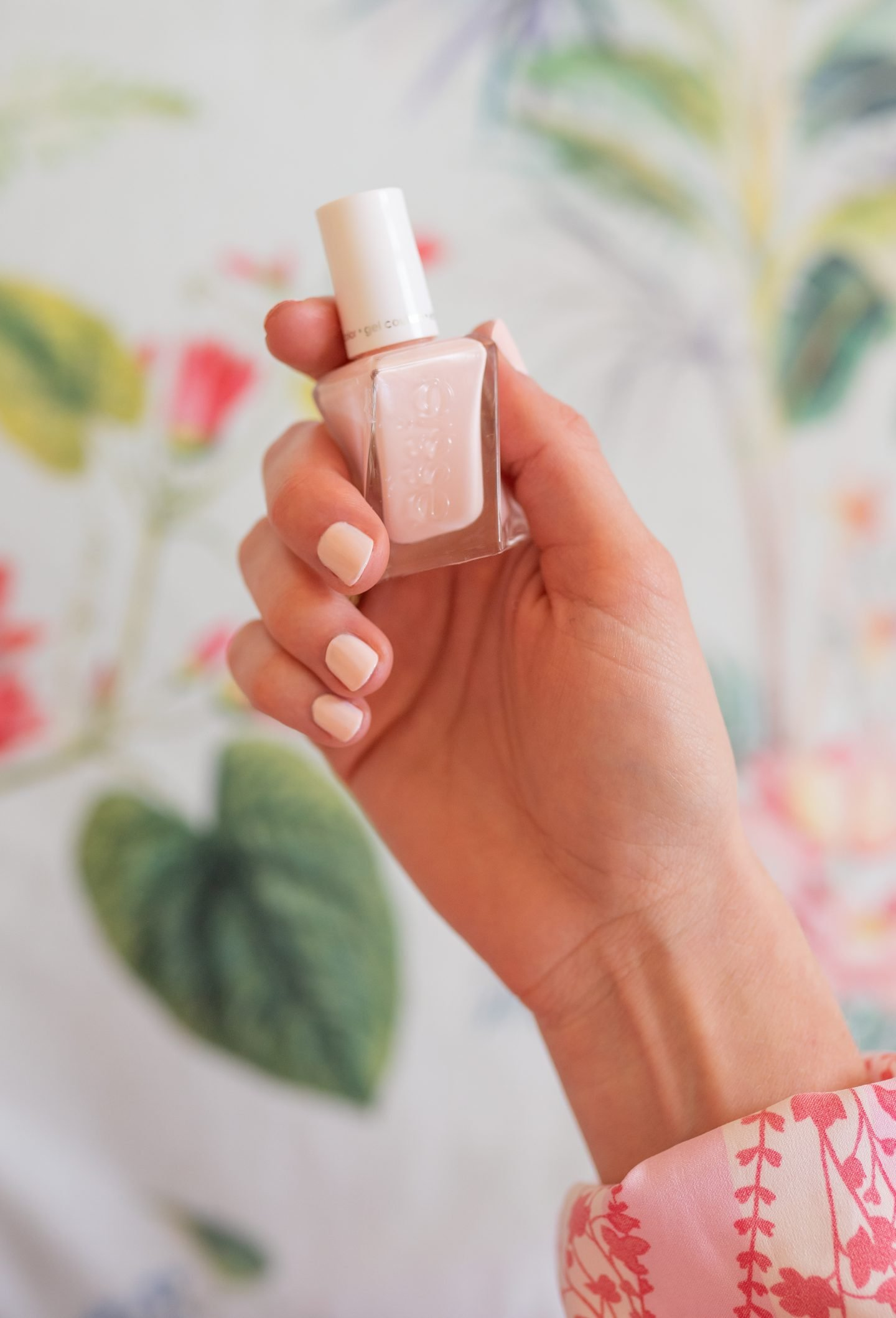 Ashley Brooke shows how to DIY a manicure at home on with Essie Gel Couture