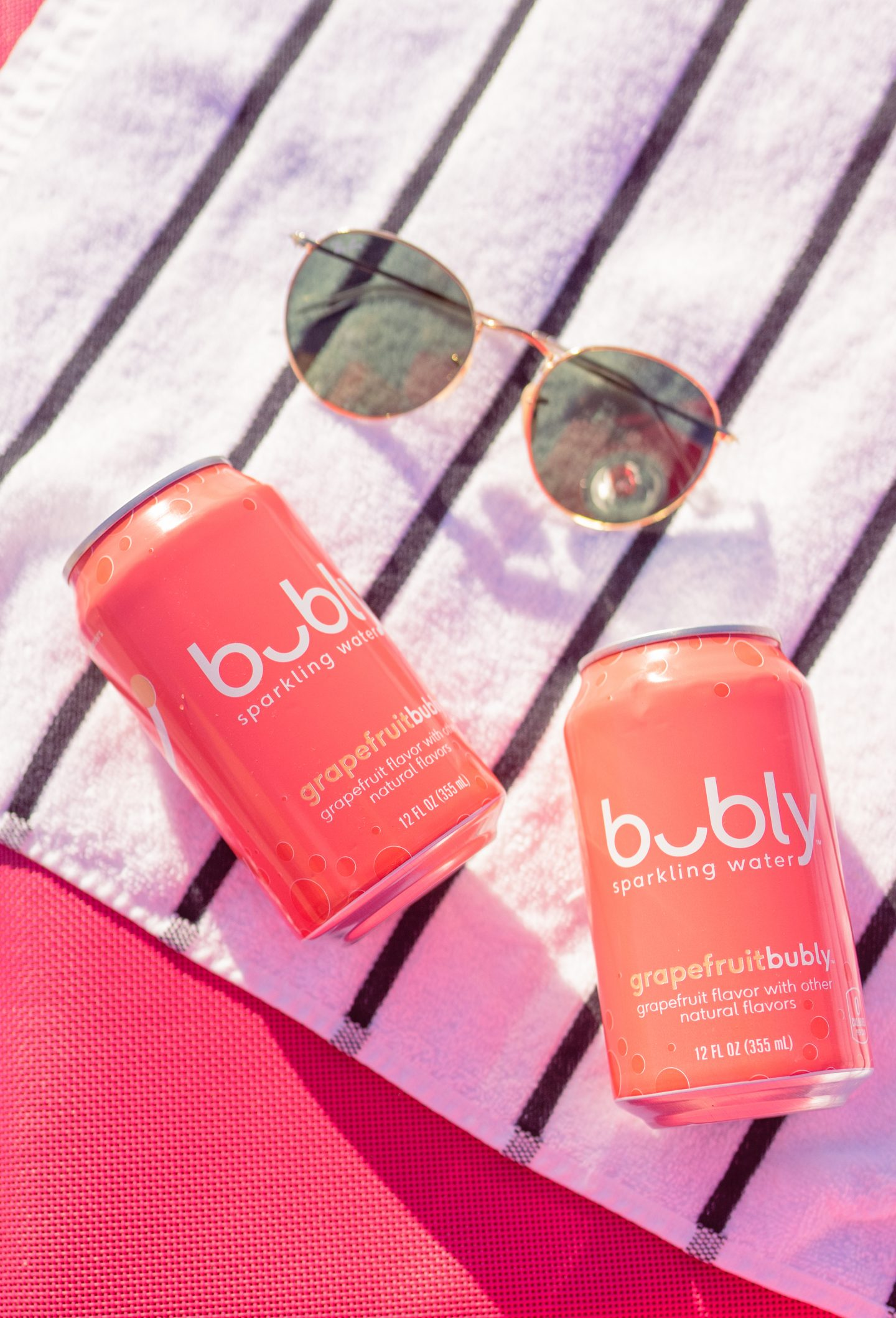 Bubly sparkling water South Beach, Miami on ashleybrookedesigns.com