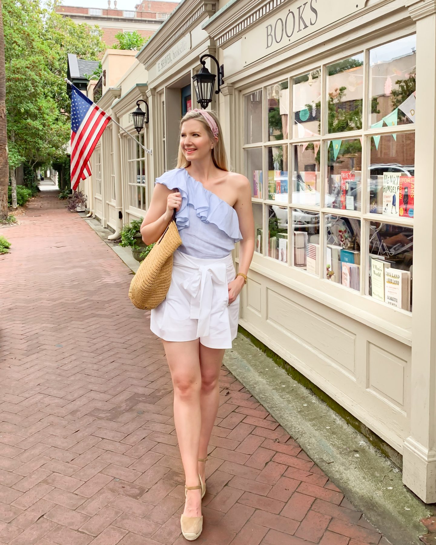 Ashley Brooke at E. Shaver Booksellers in Savannah, GA