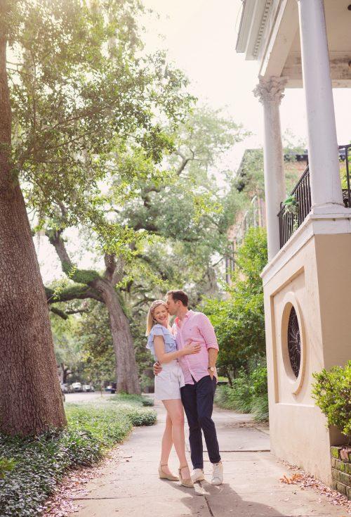 Ryan and Ashley Brooke Chambers in Savannah, GA