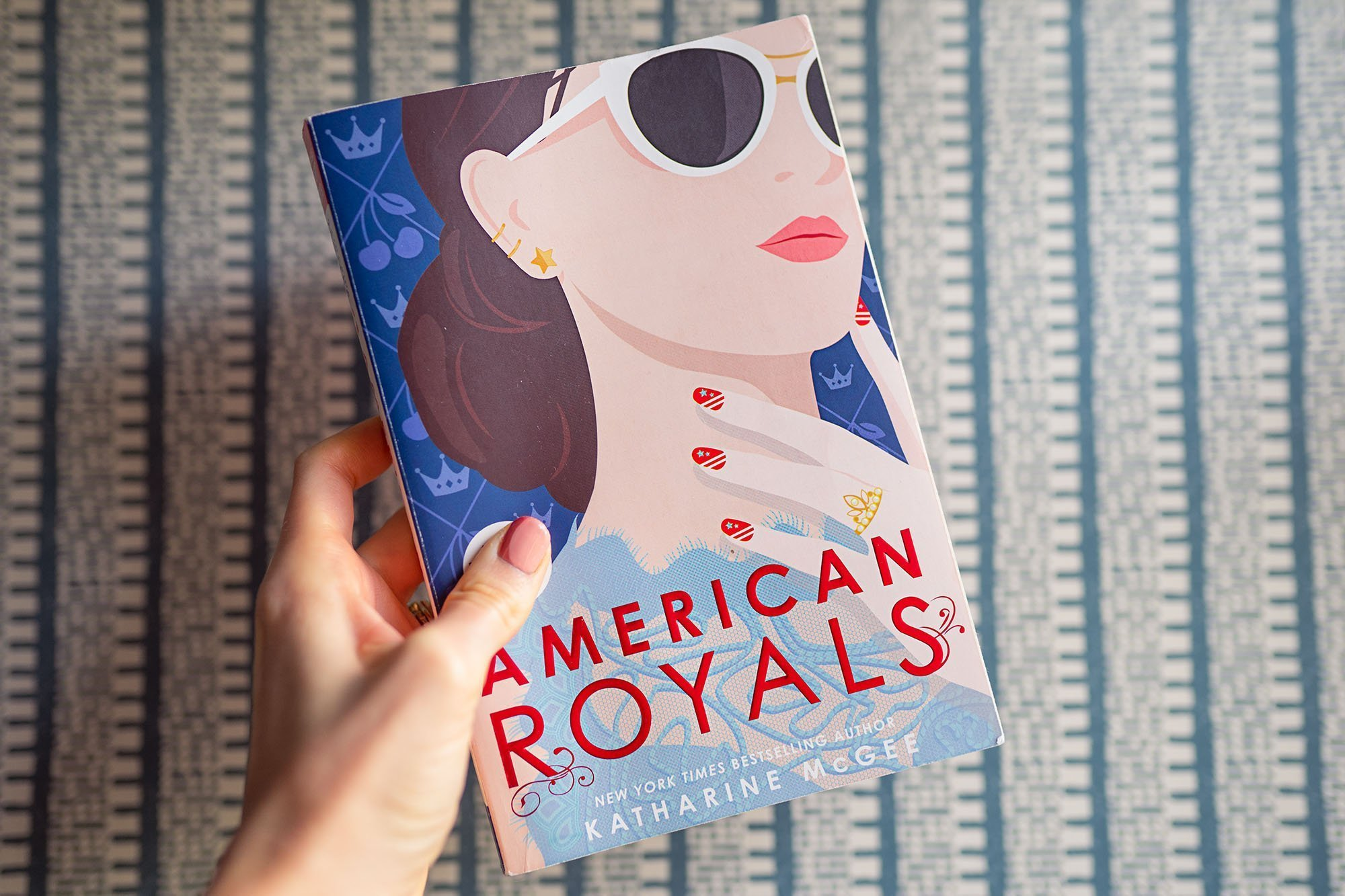 Horizontal - September's Ashley Brooke Book Club - American Royals