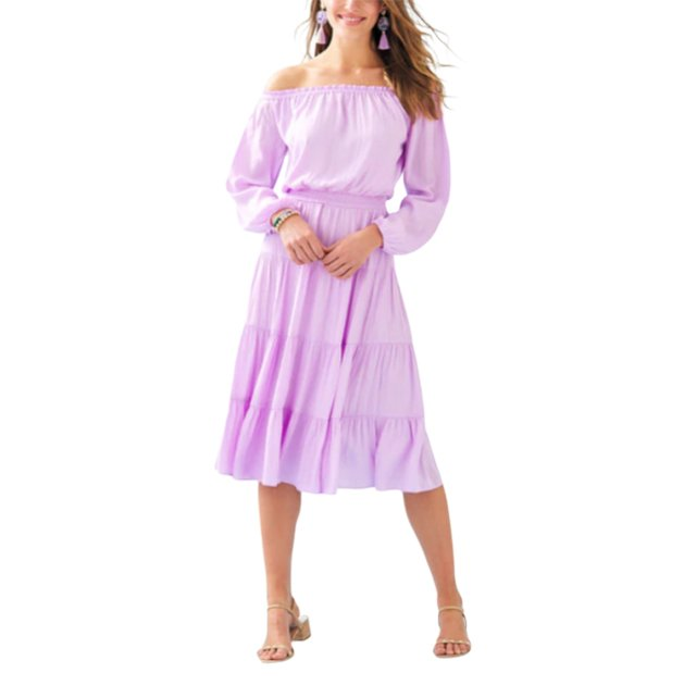Purple Lilly Pulitzer Dress