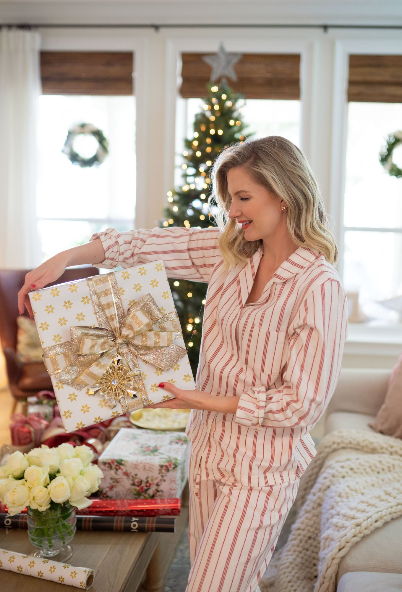 Ashley Brooke shows how to wrap a gift