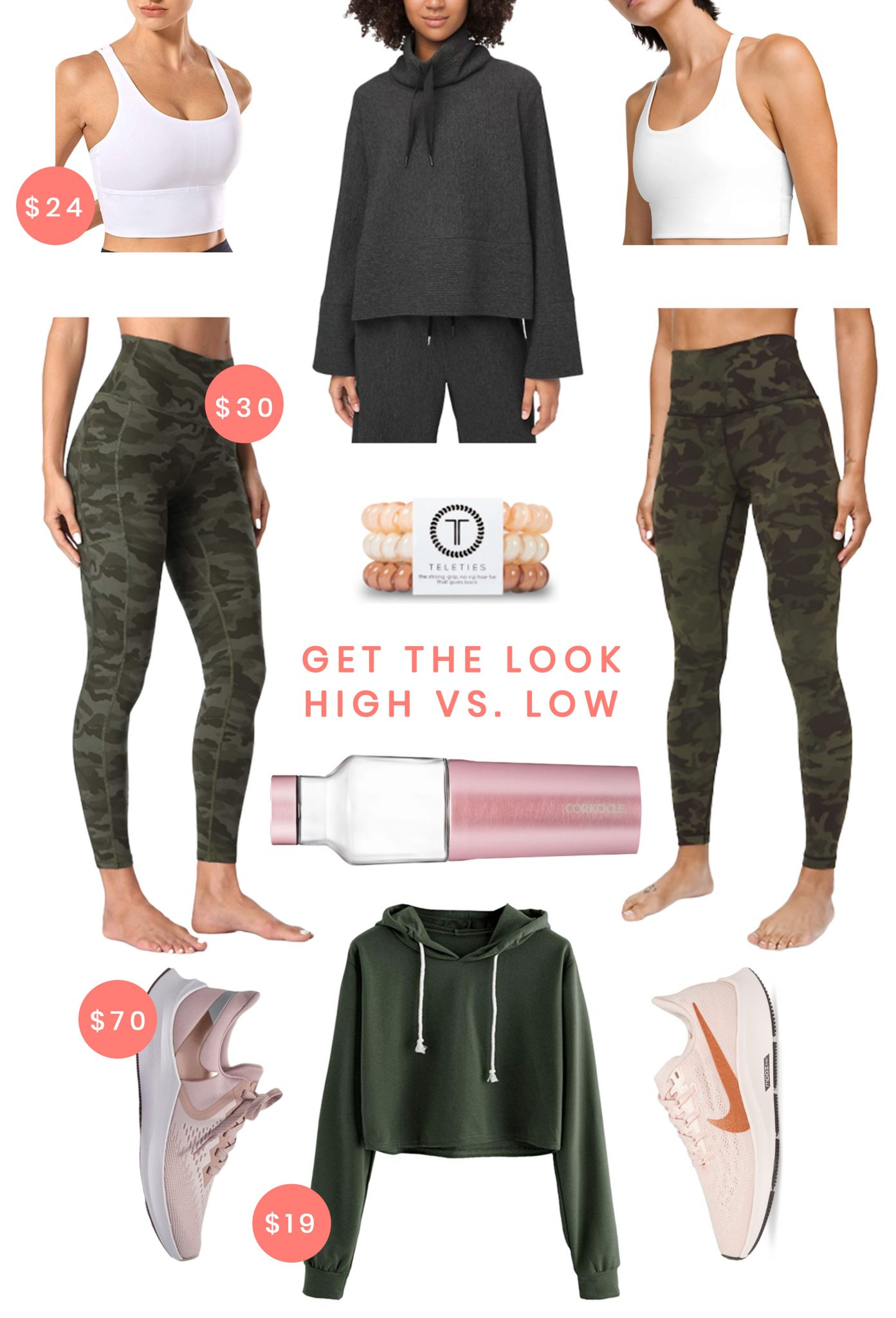 High vs. Low Workout Clothes - Ashley Brooke