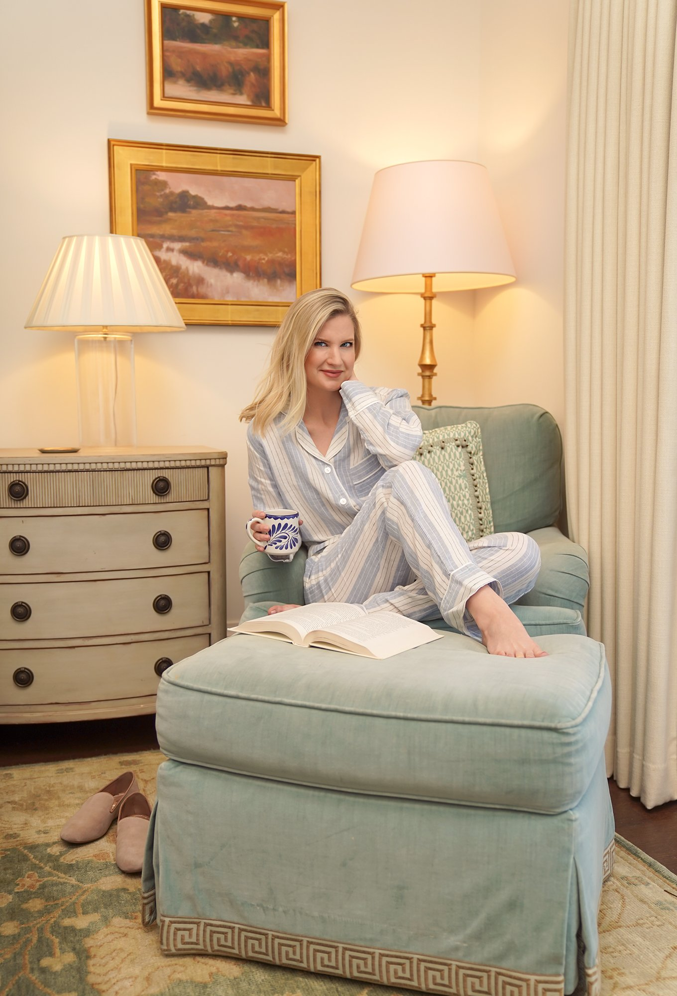 Linen Pajama Sets and Lazy Mornings