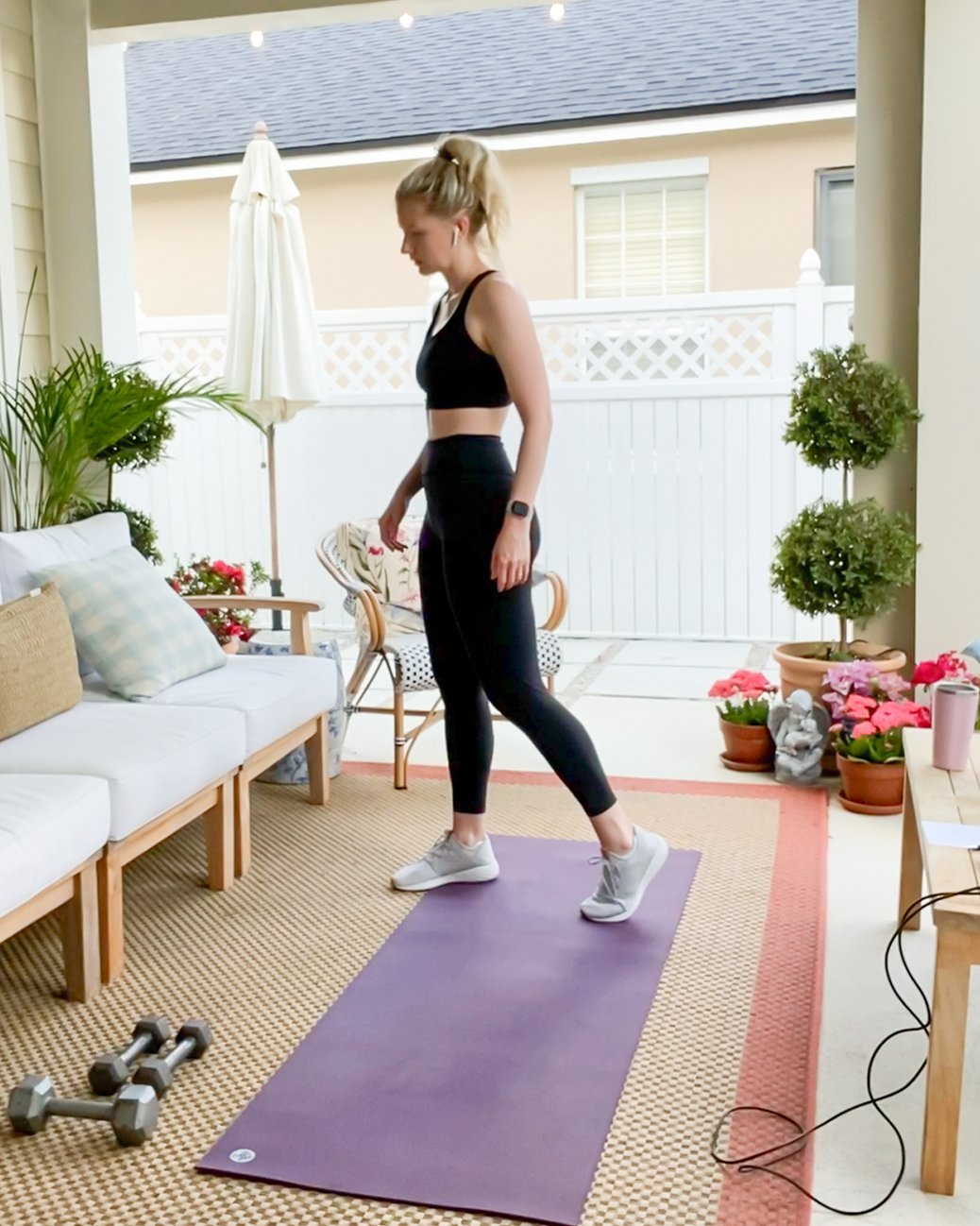 At Home Work out 2 - Look
