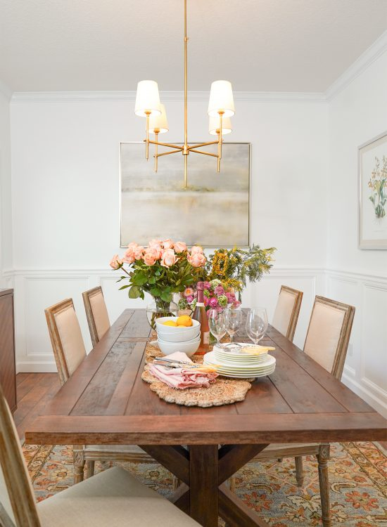 Ashley Brooke's Dining Room on www.ashleybrookedesigns.com