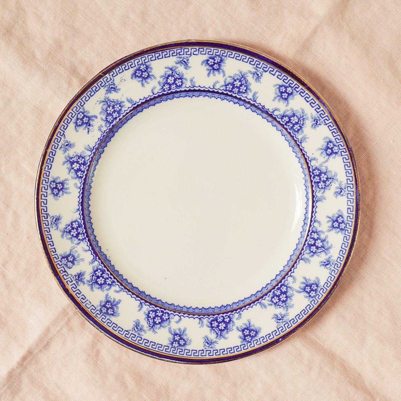 Torbrex Stanley Pottery Vintage China Plate on www.ashleybrookedesigns.com
