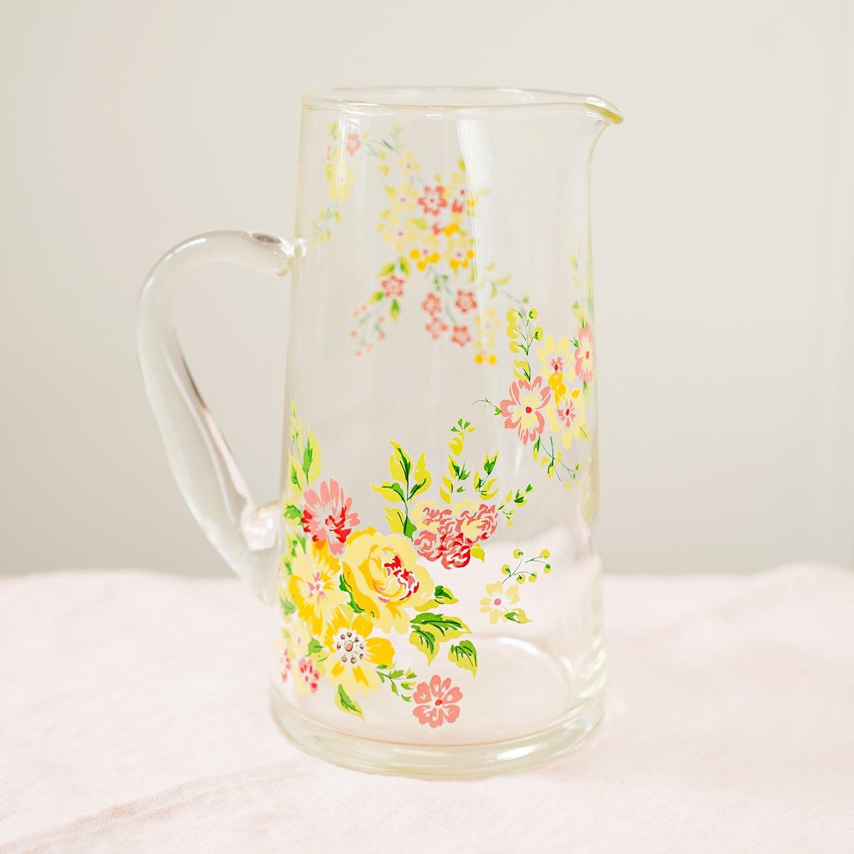 Vintage China - Libbey Daisy Drinking Glasses