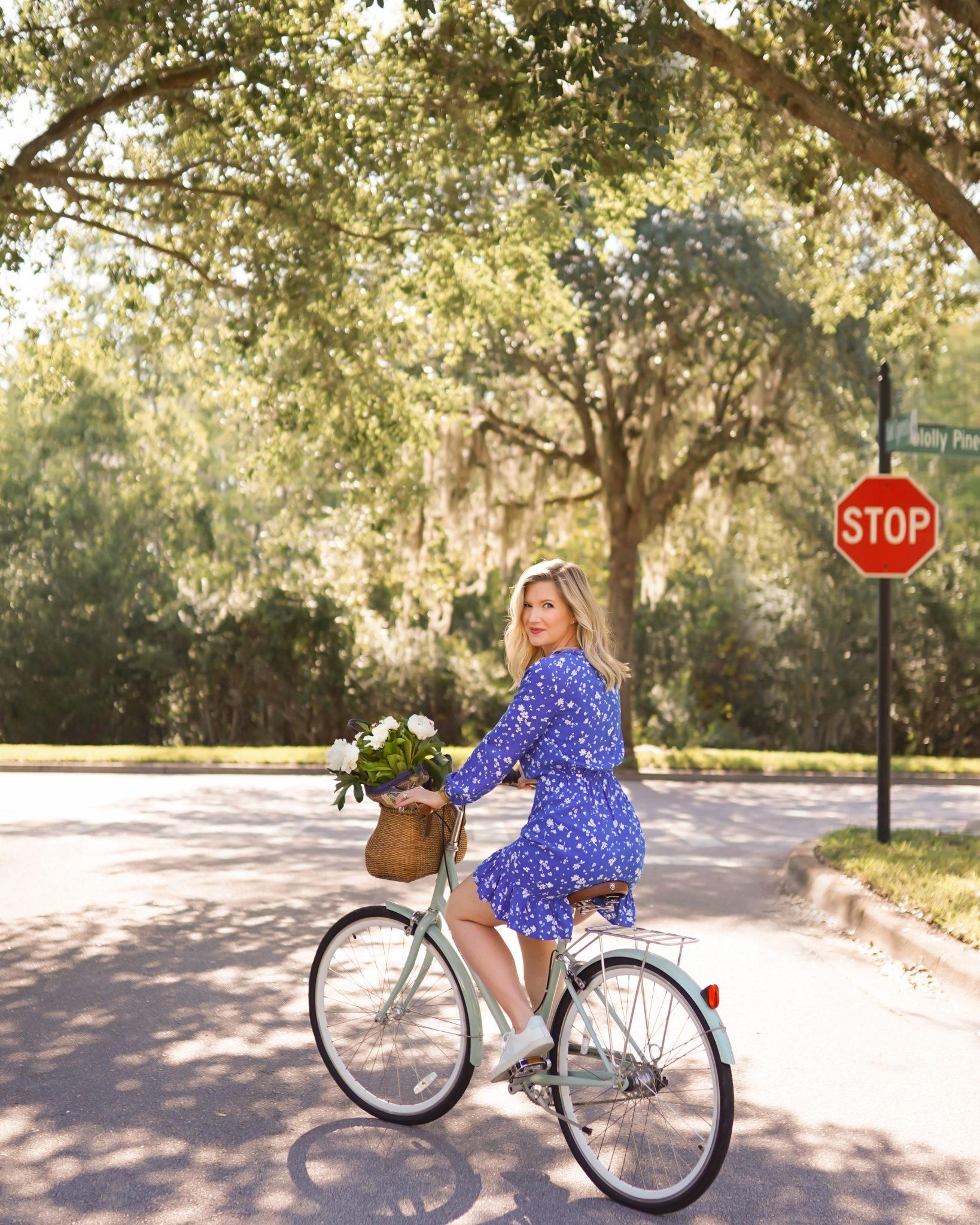 Ashley Brooke - Draper James - Floral Popover Dress - 6 -c 2
