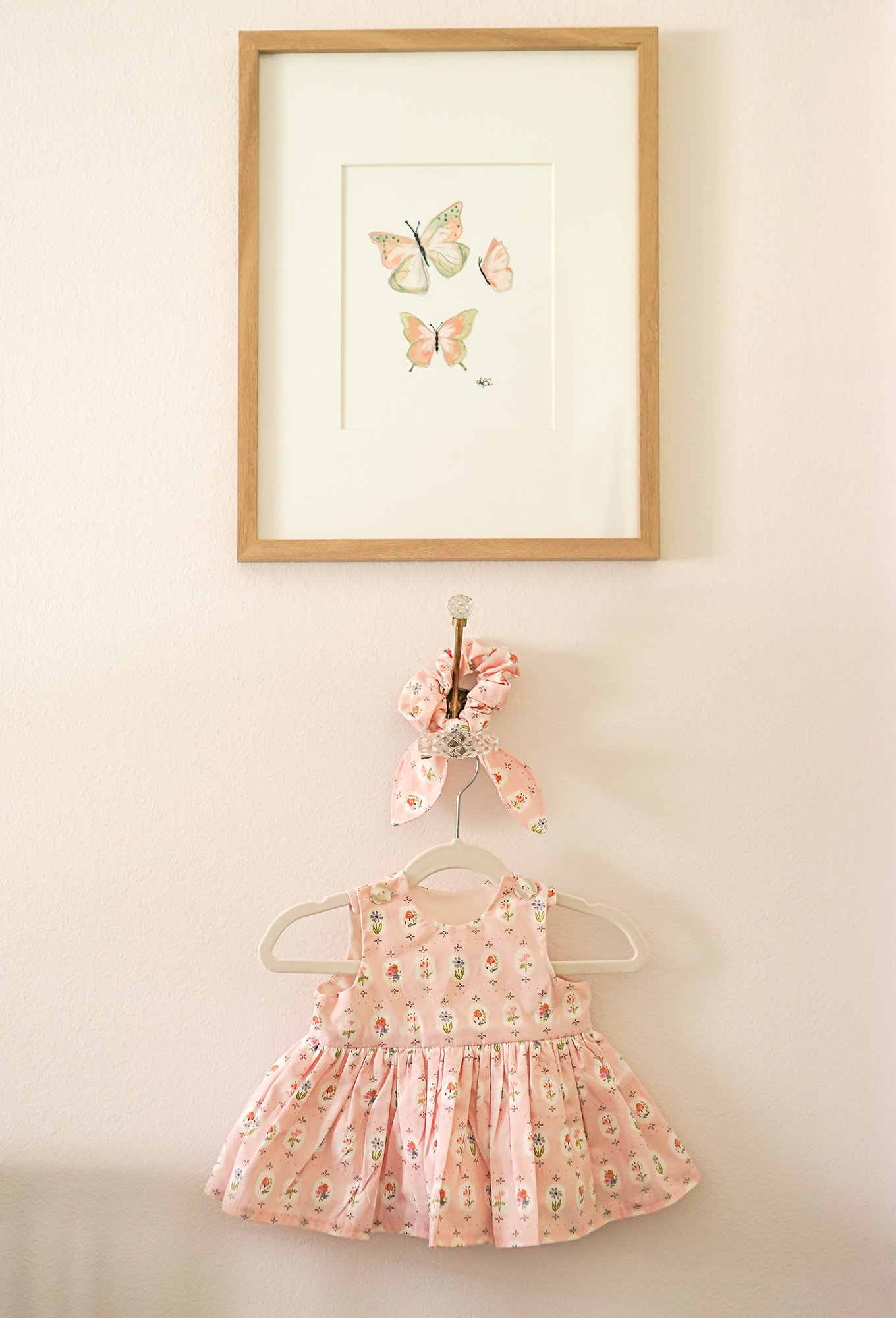 DIY Baby Dress Sewing Pattern