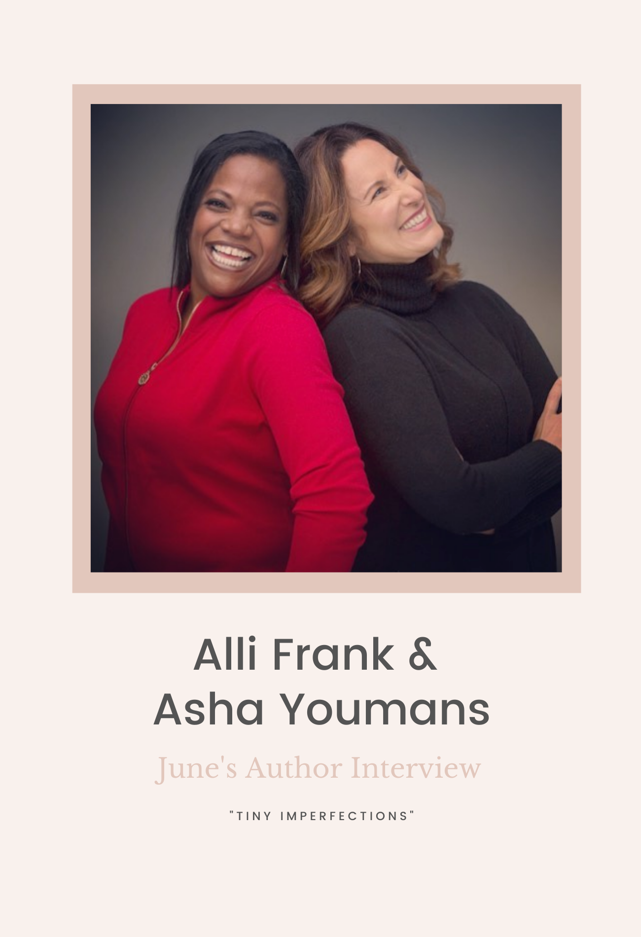 Author Interview with Alli Frank + Asha Youmans