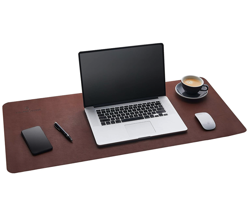 Leather Desk Mat - Fathers Day Gift Ideas on Ashley Brooke Designs