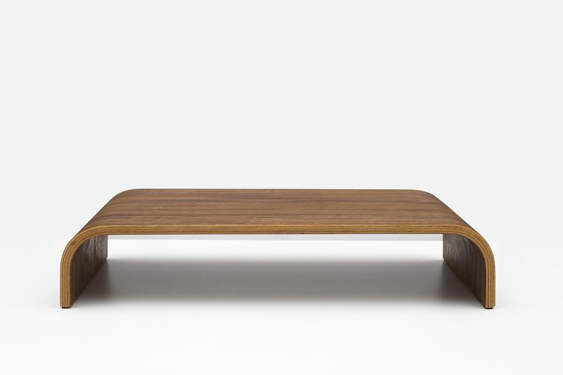 Walnute Monitor Stand - Fathers Day Gift Ideas on Ashley Brooke Designs