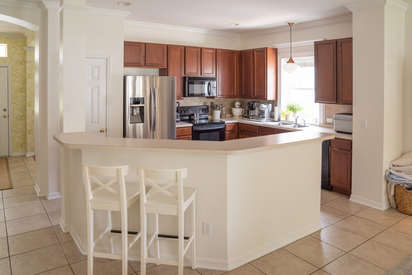 Ashley Brooke's Green Kitchen renovation - before picture