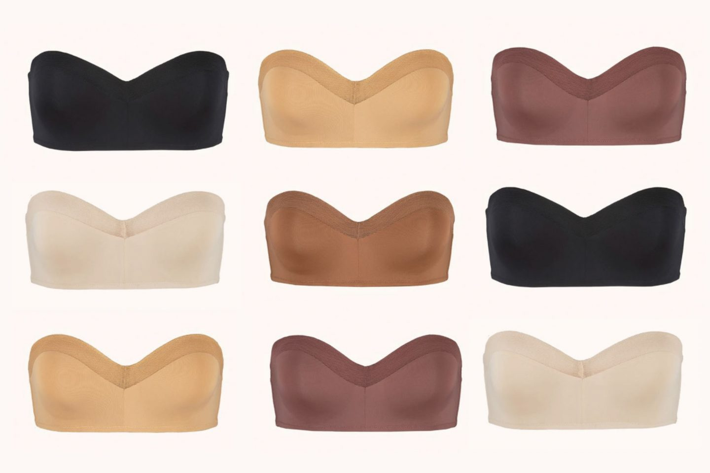 Lively Bra Colors - Best Strapless Bra according to Ashley Brooke