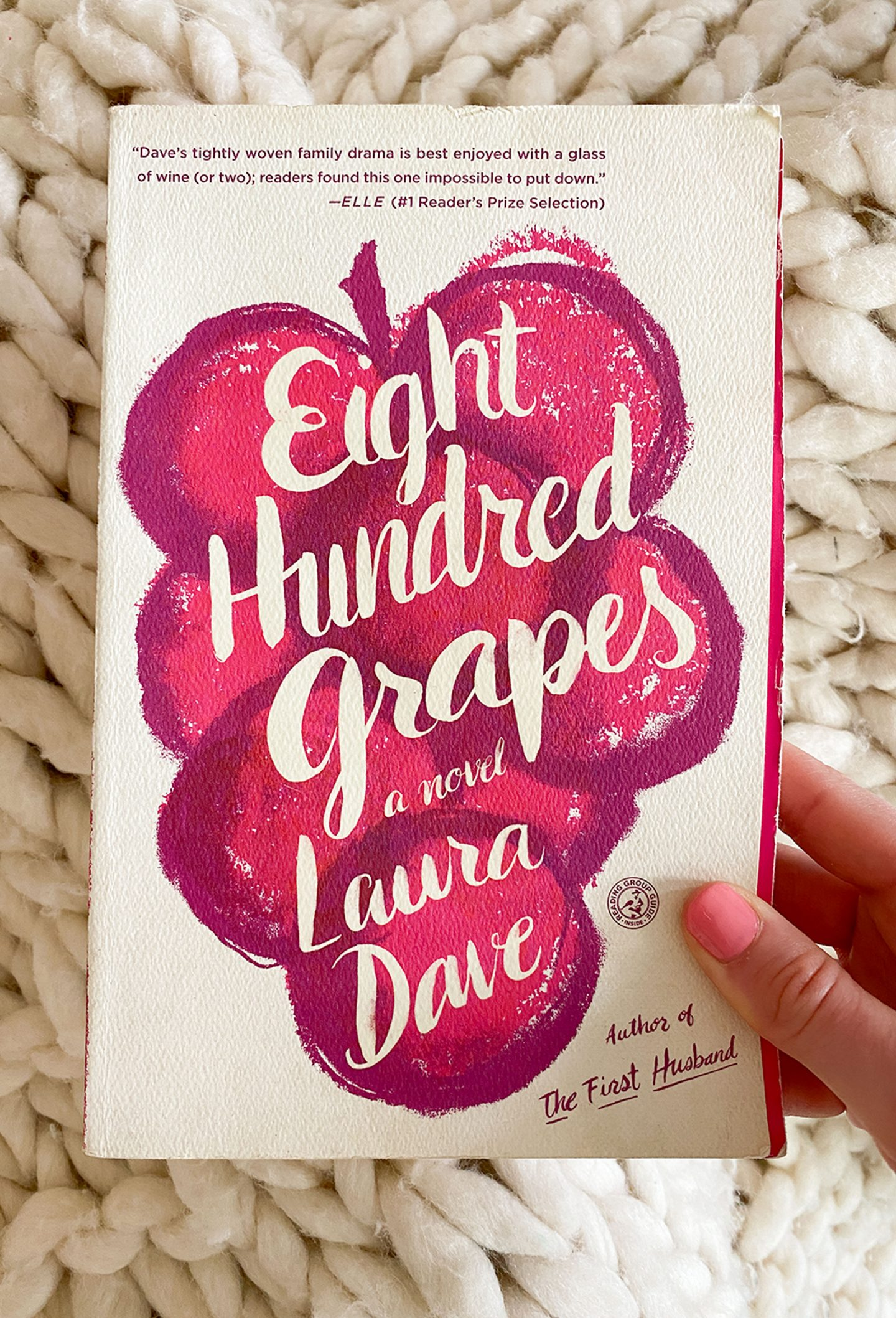October's Book: Eight Hundred Grapes