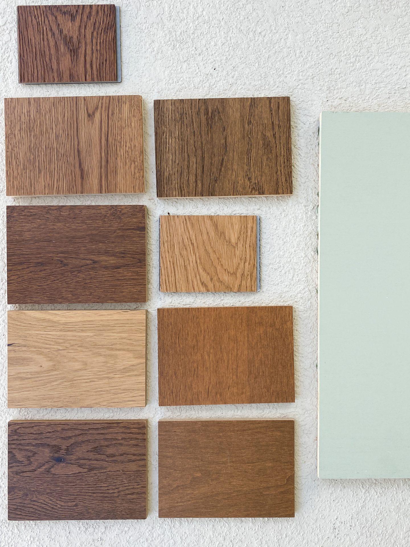 popular wood flooring color samples on ashleybrookedesigns.com