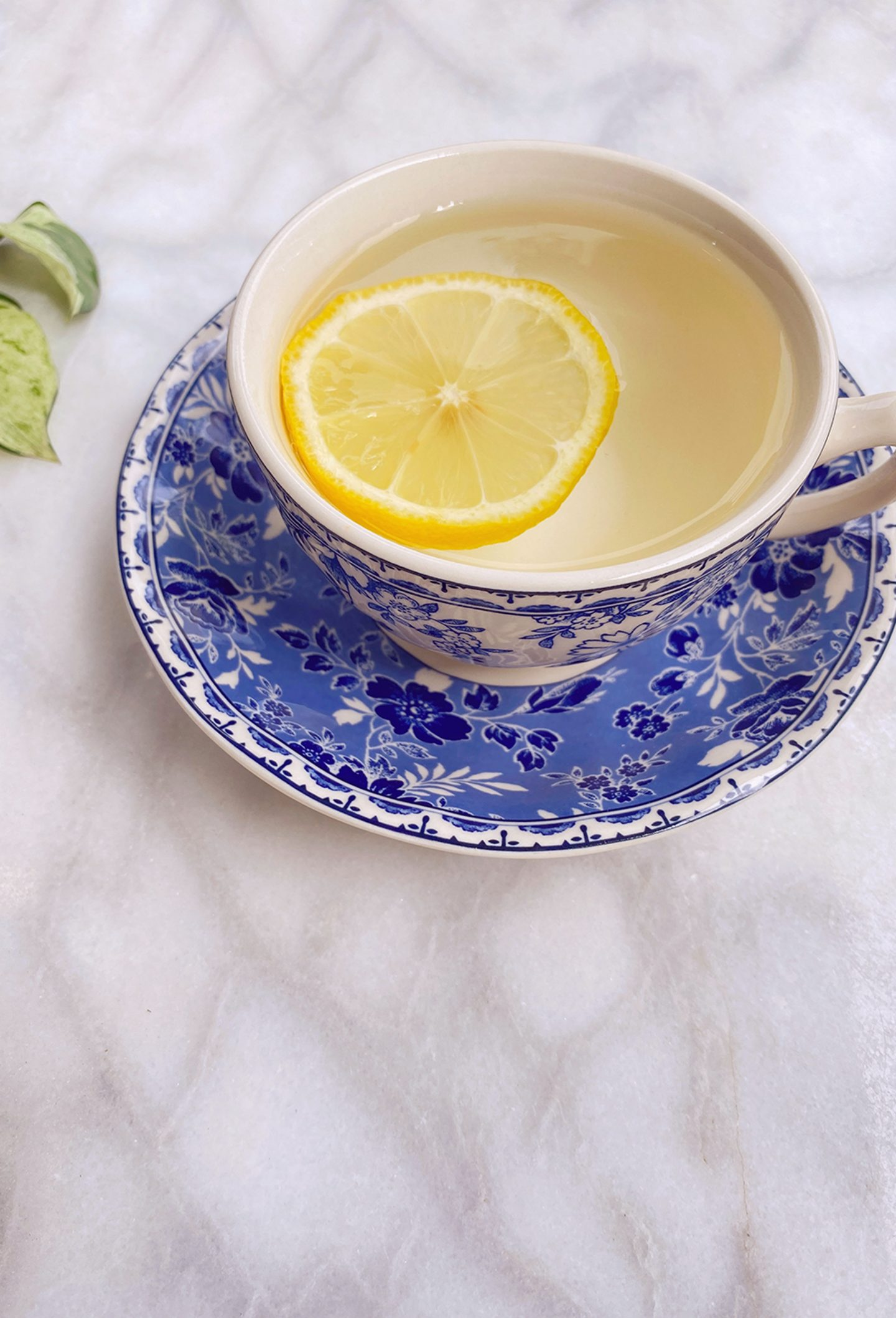 Ashley Brooke talks about Parsley Health and why she loves it. Photo of tea cup.