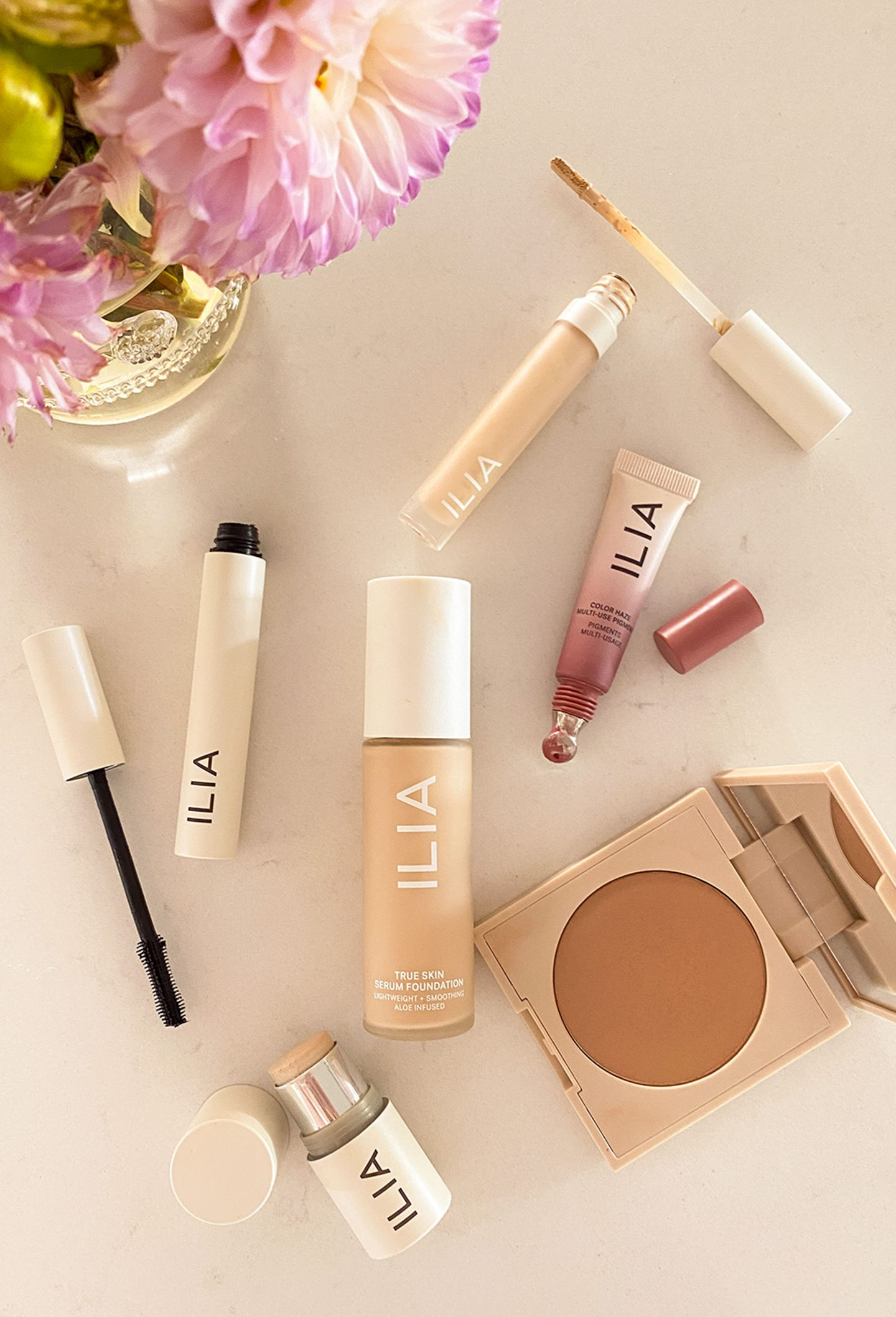 Ilia Beauty Review by Ashley Brooke and why she loves clean beauty