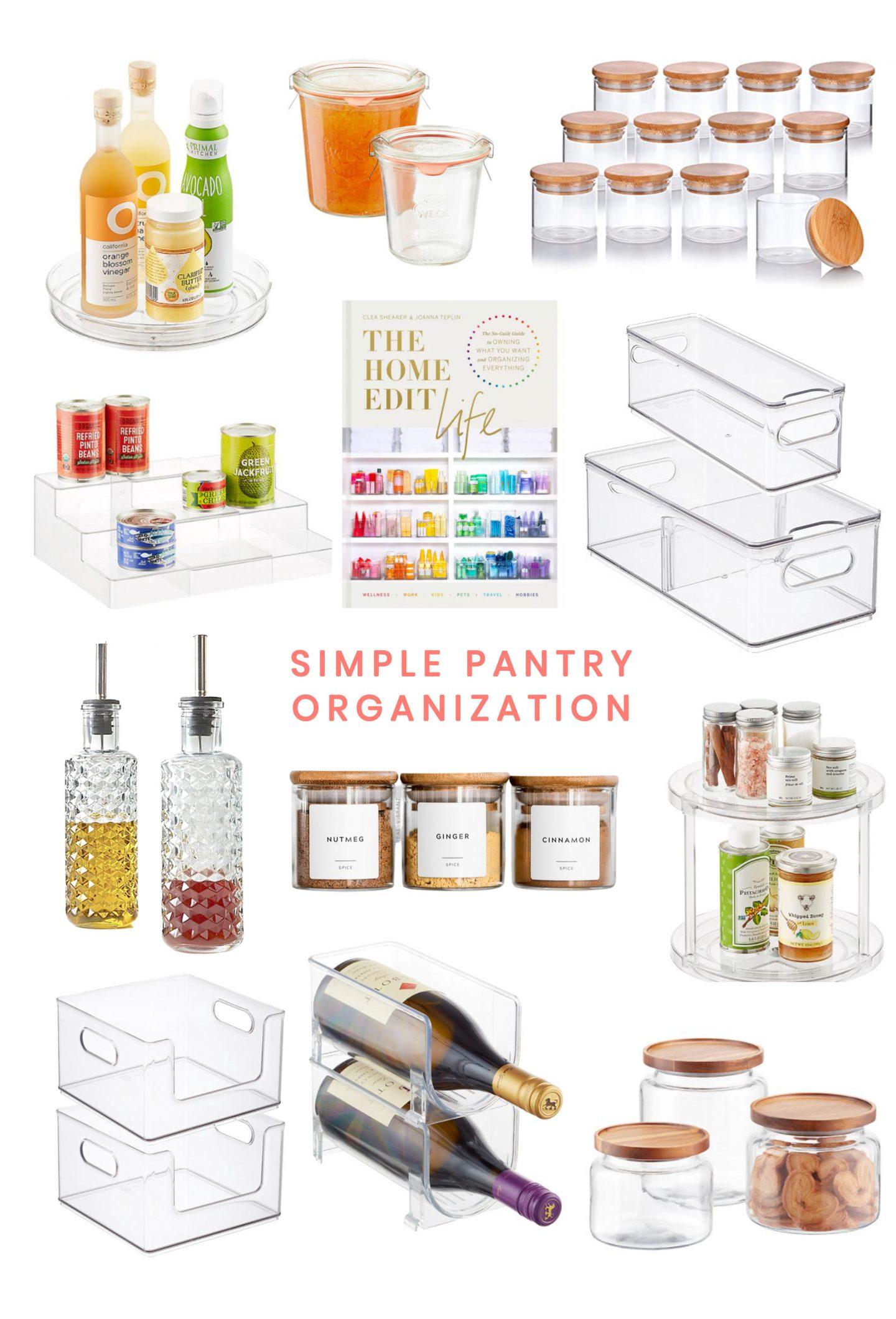 Simple Pantry Organization