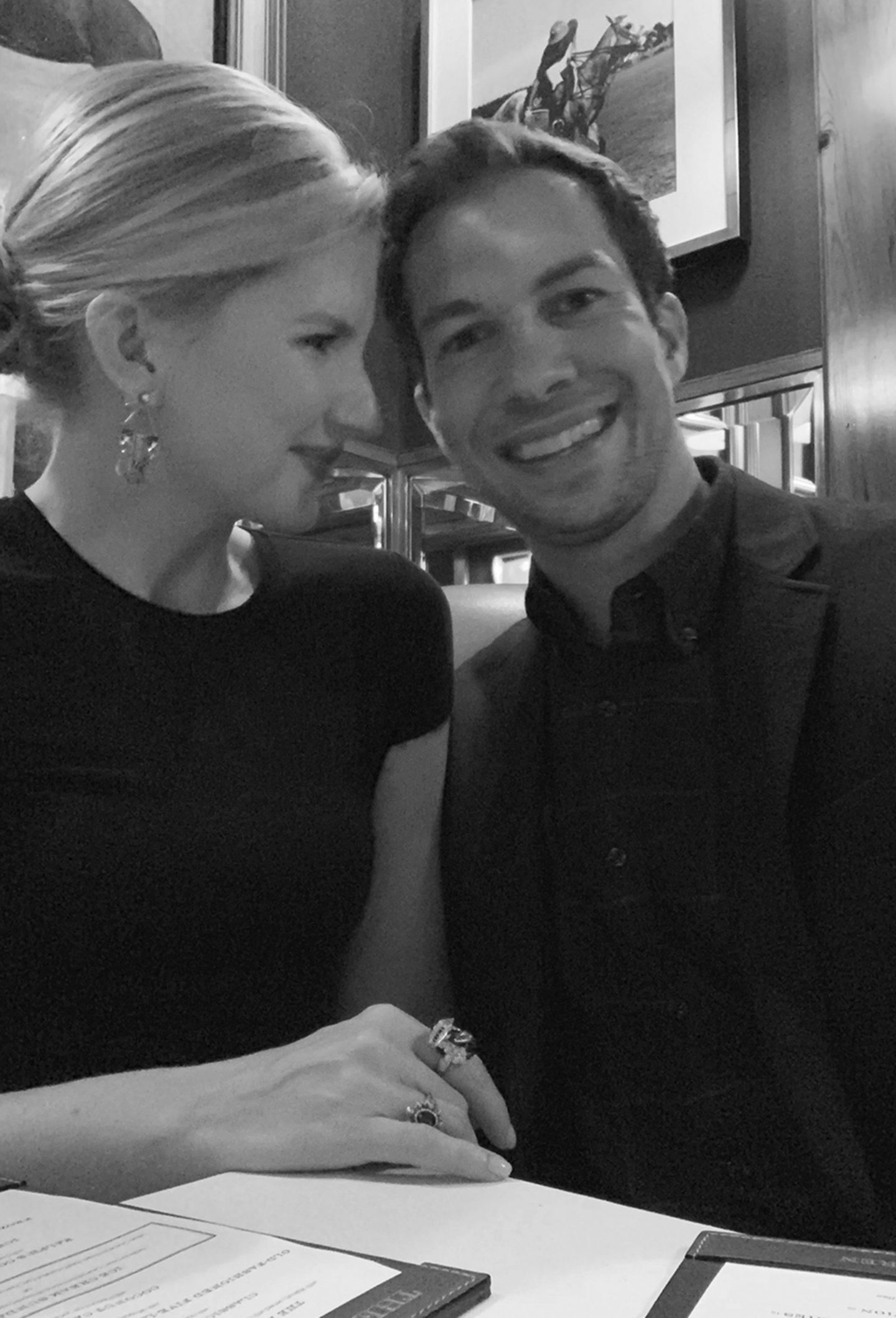 Ryan and Ashley Brooke at The Polo Bar NYC
