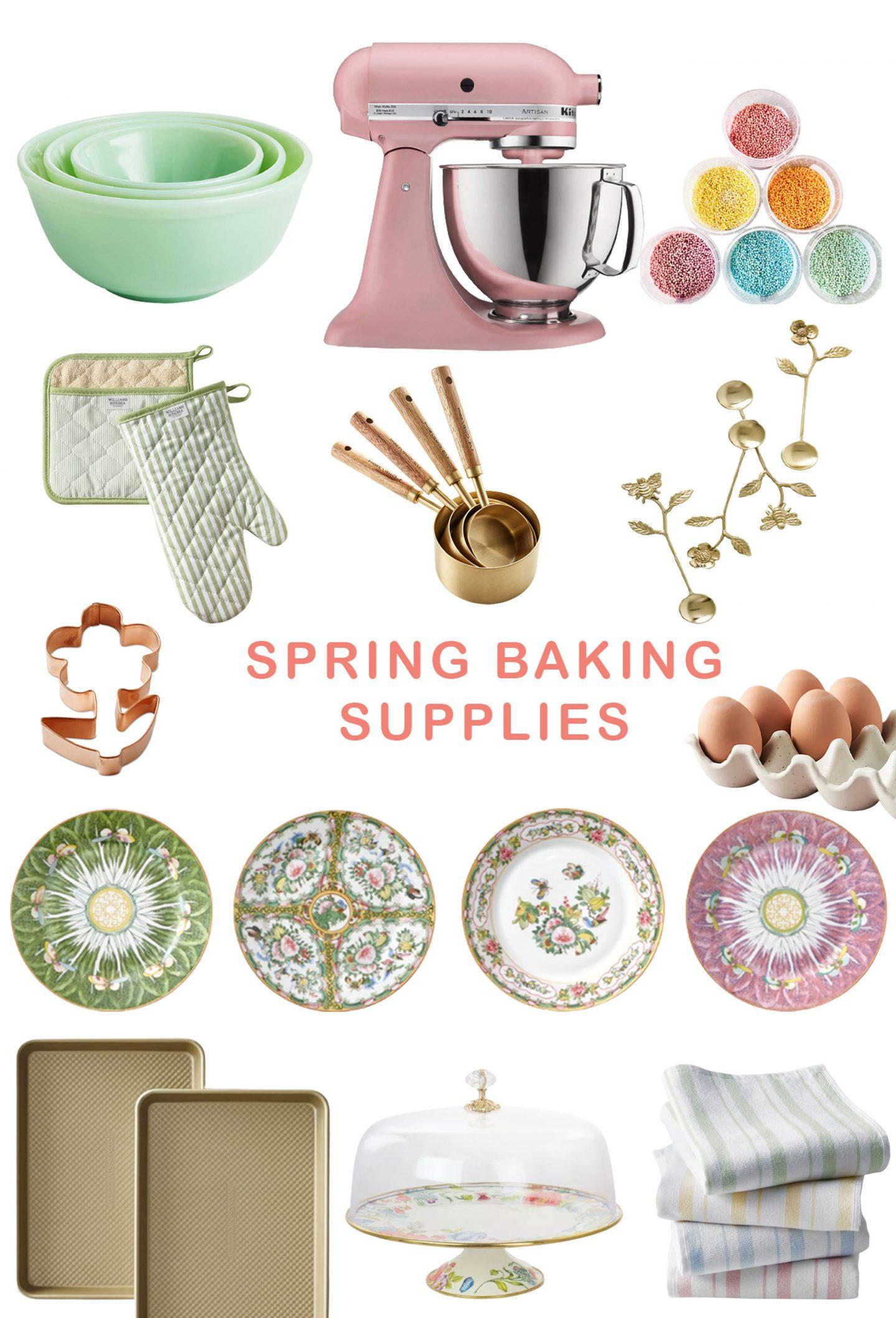 Spring Baking Supplies