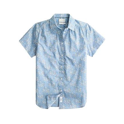 J.Crew floral Shirt | Monday Morning Musings | No.159