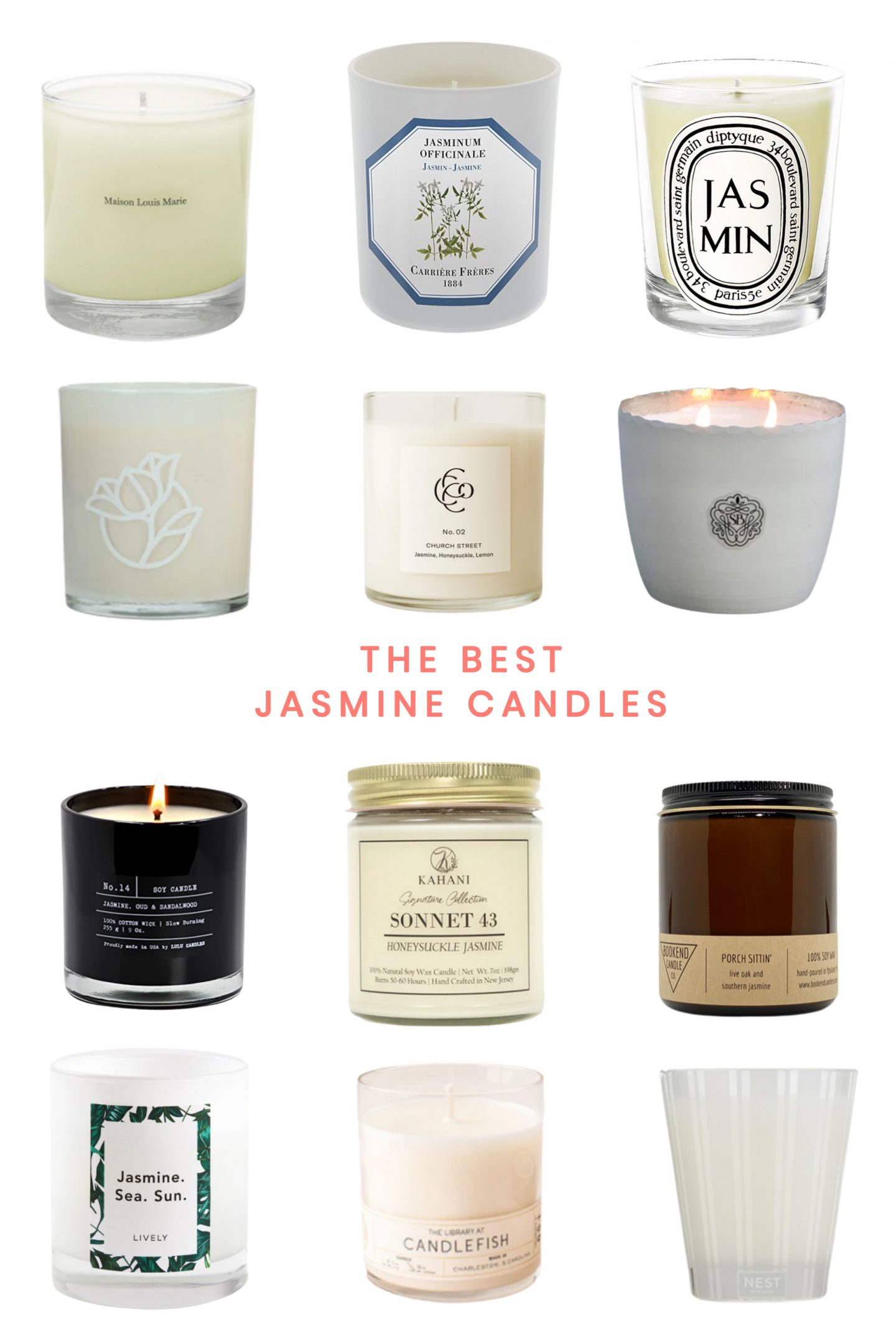 The Best Jasmine Scented Candles