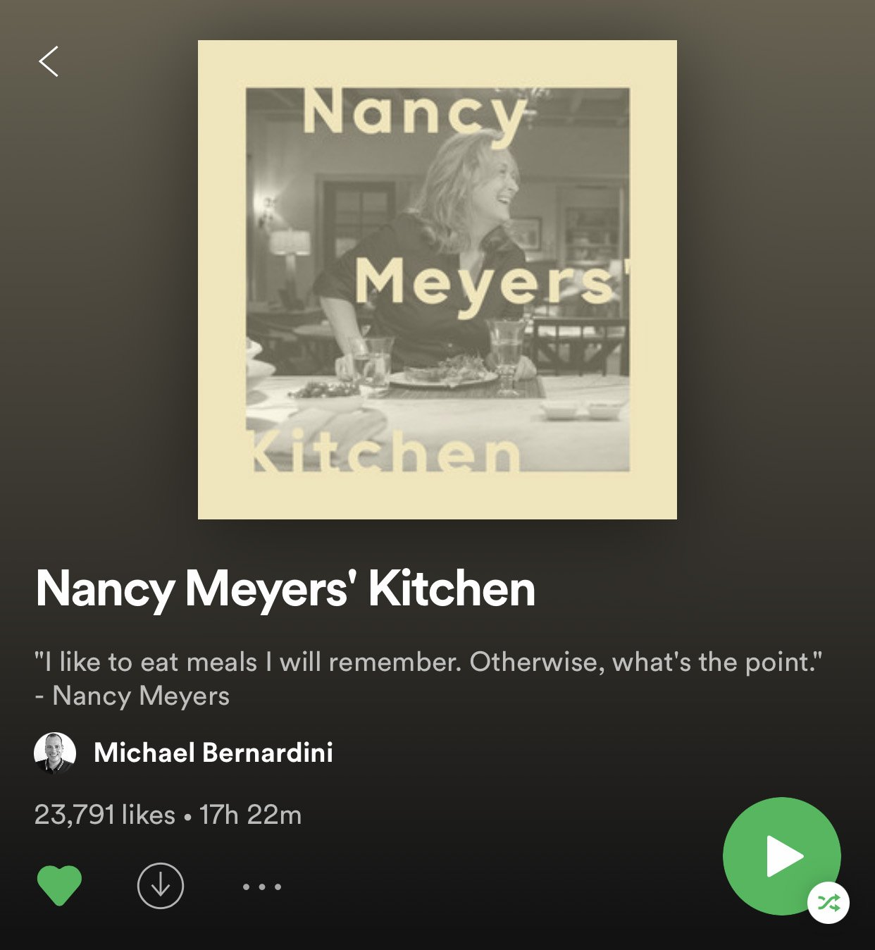 nancy meyers' kitchen   6 Playlists For Your Next Dinner Party