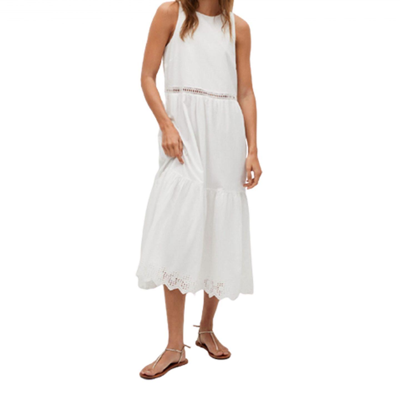 LITTLE WHITE MAXI DRESS | Monday Morning Musings | No.156