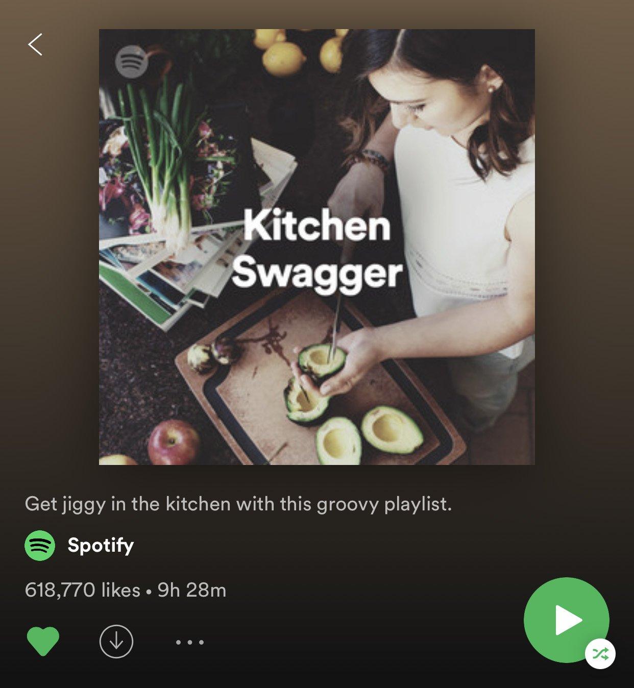 kitchen swagger spotify