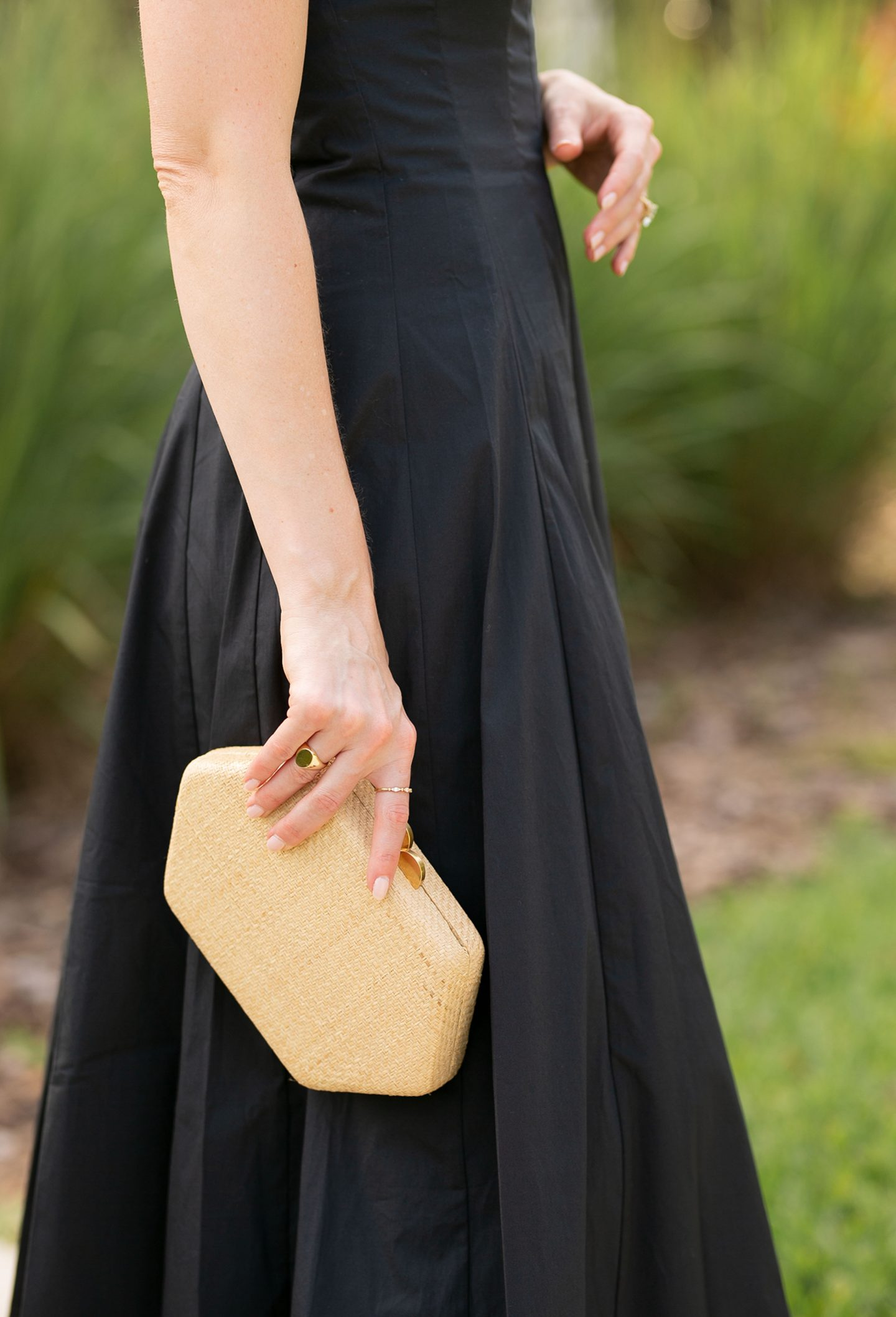 How To Style A Black Dress For Spring