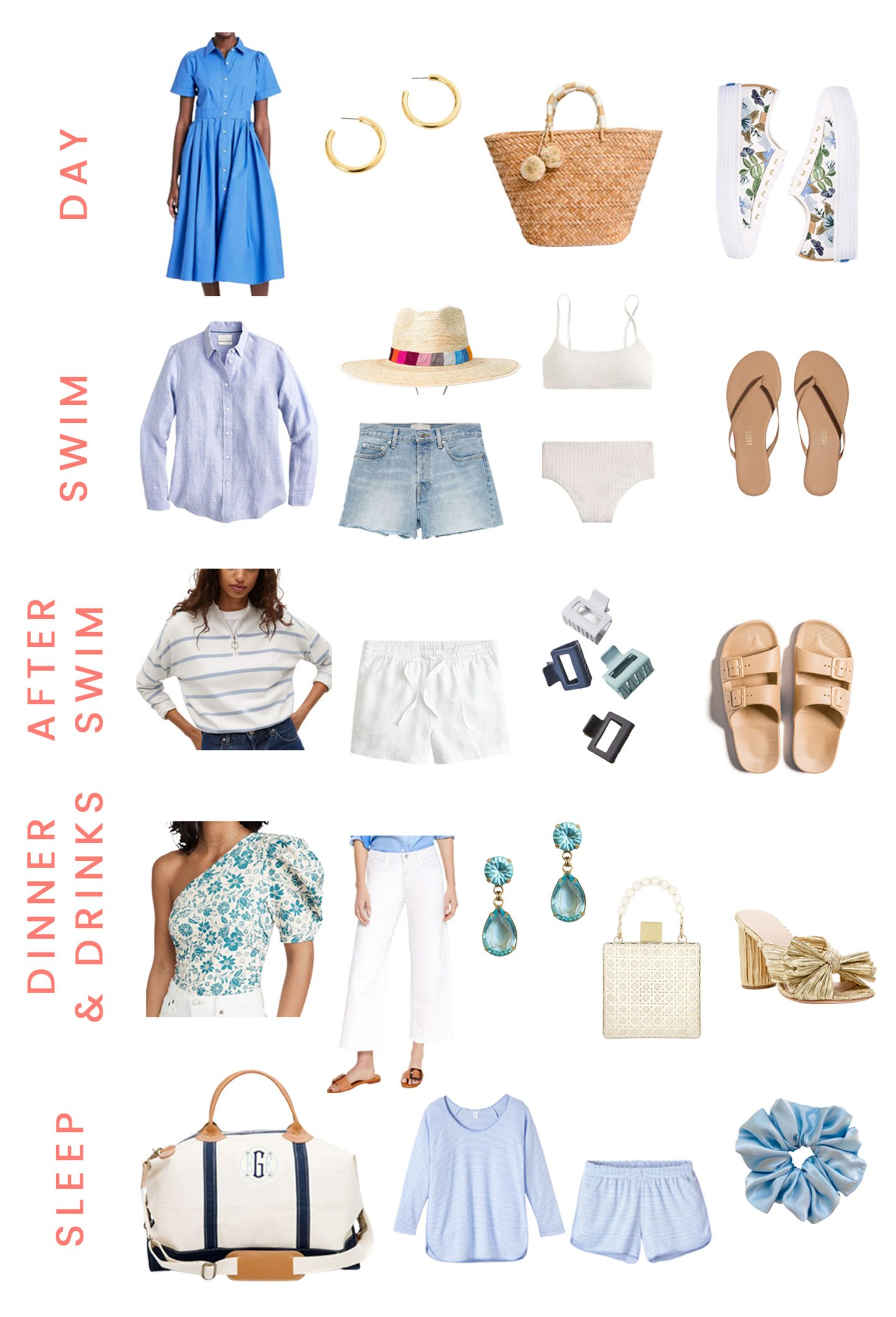 Your Memorial Day Weekend Packing List