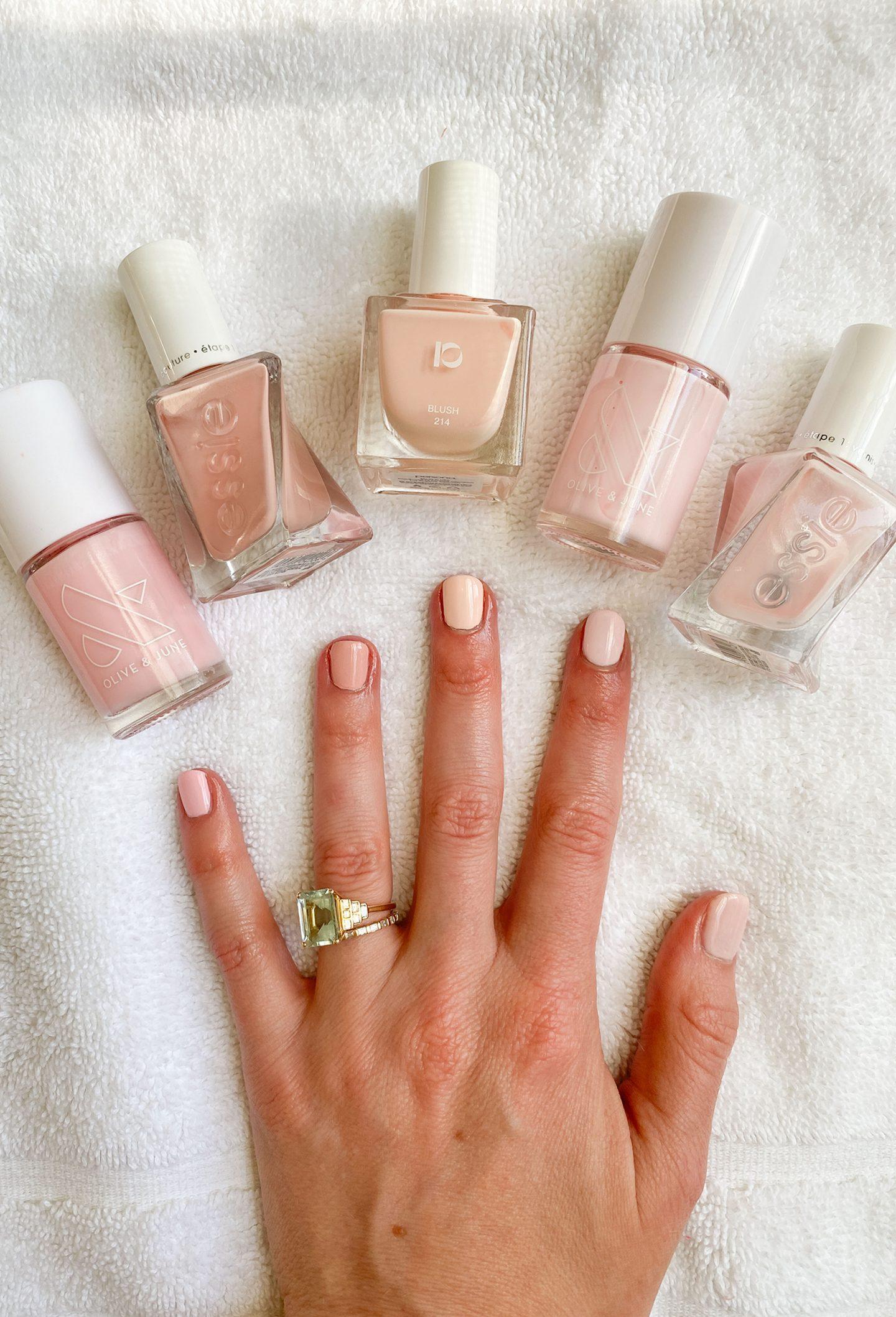 5 Pale Pink Nail Polishes
