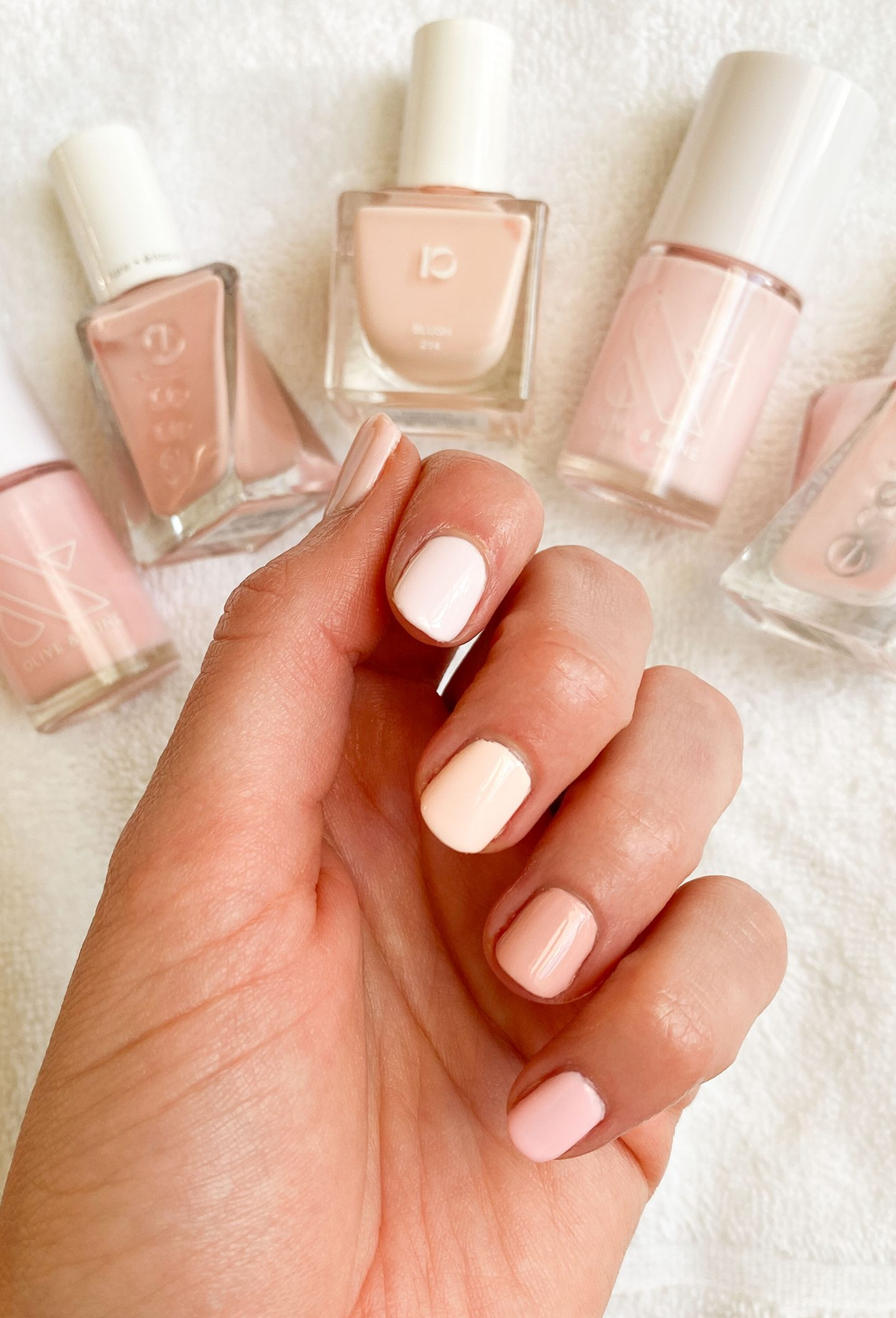 Best Pale Pink Nail Colors