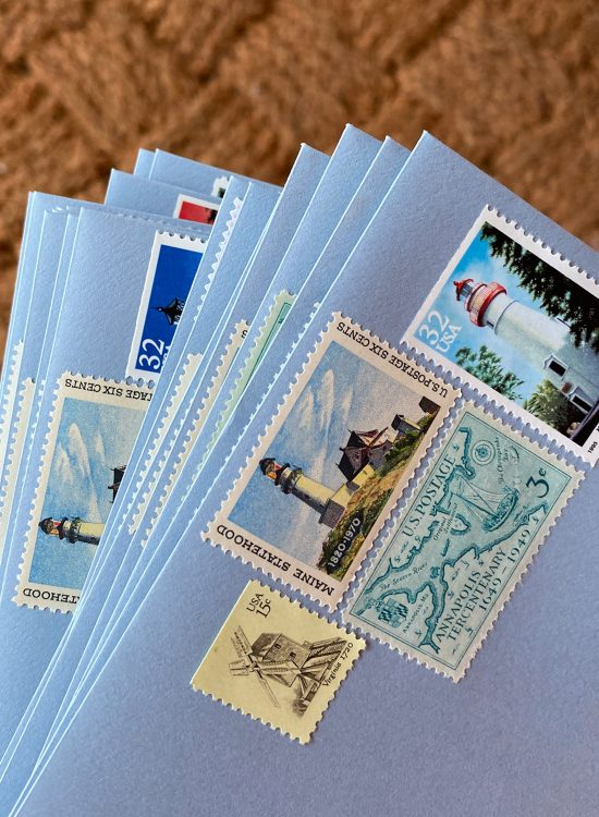 Where to Find Vintage Stamps for Invitations
