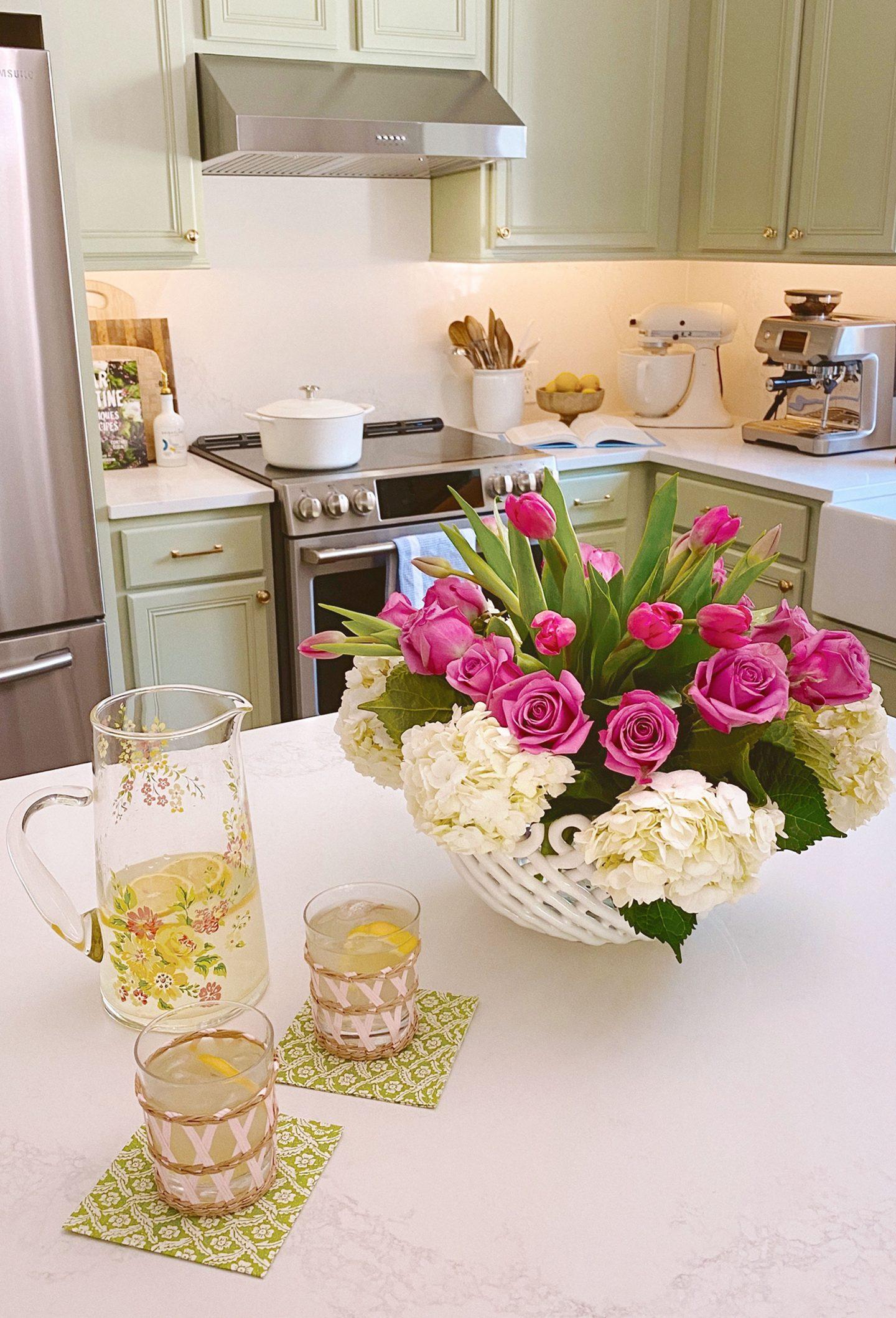 Ceramic Woven Basket Vase