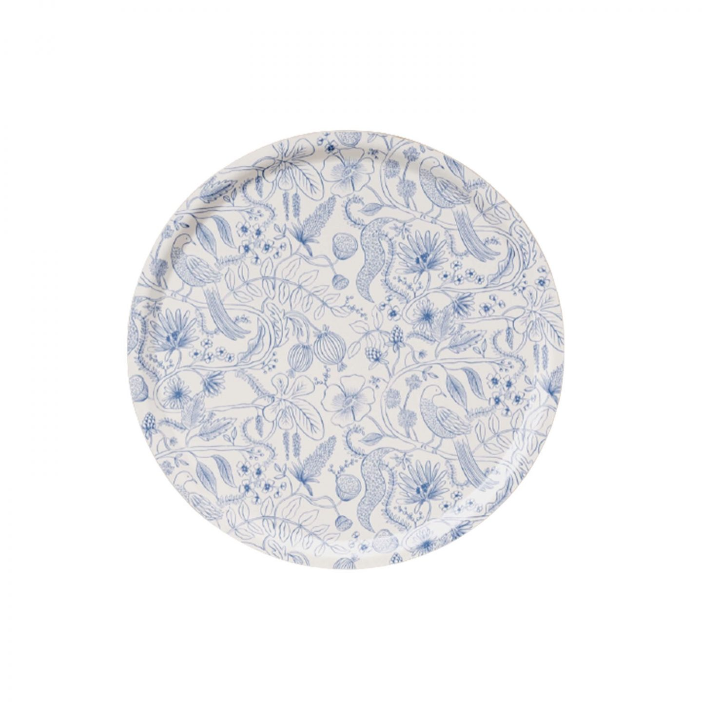 Blue and White Plate | Wednesday Morning Musings | No.164