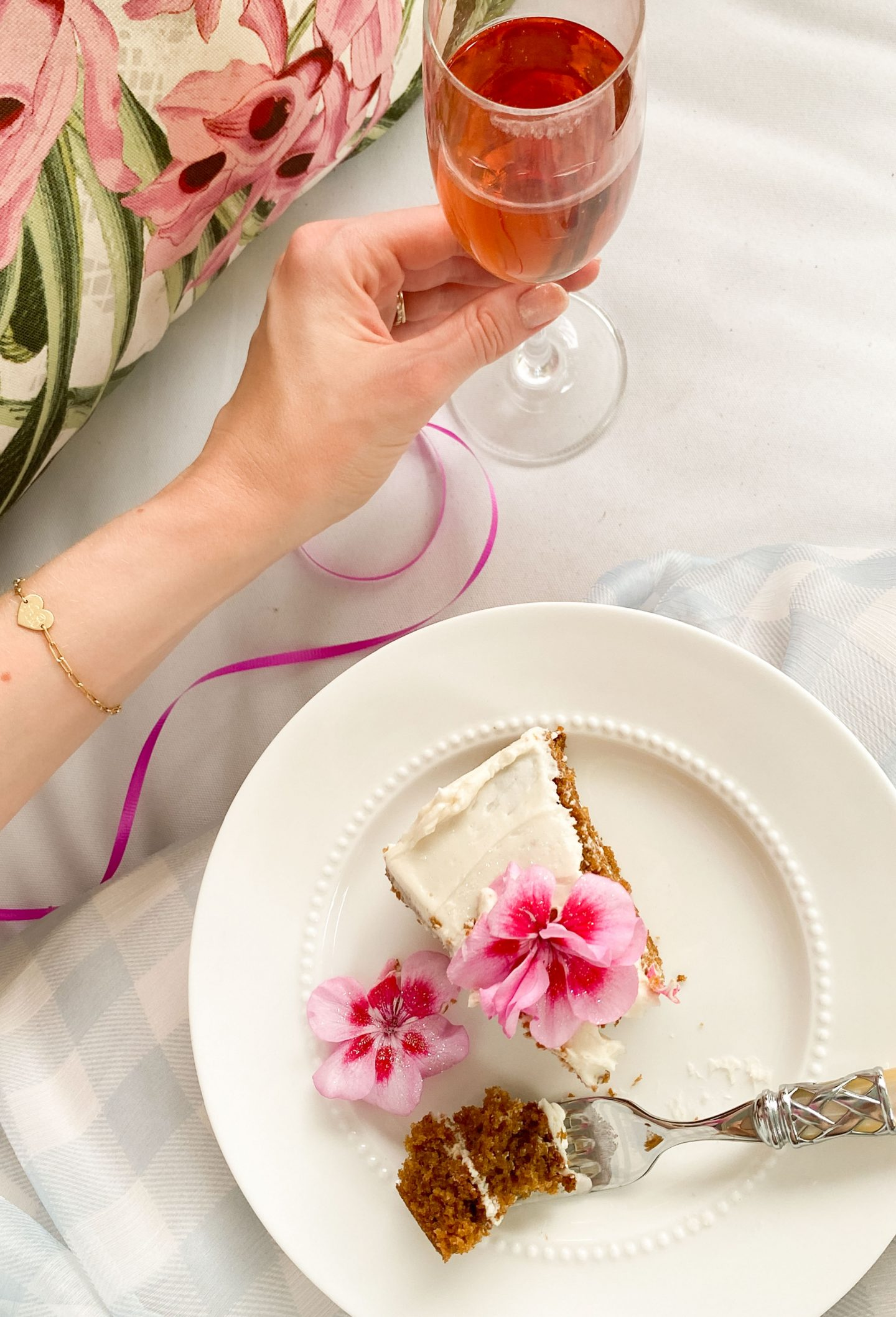 Champagne & Cake for Breakfast