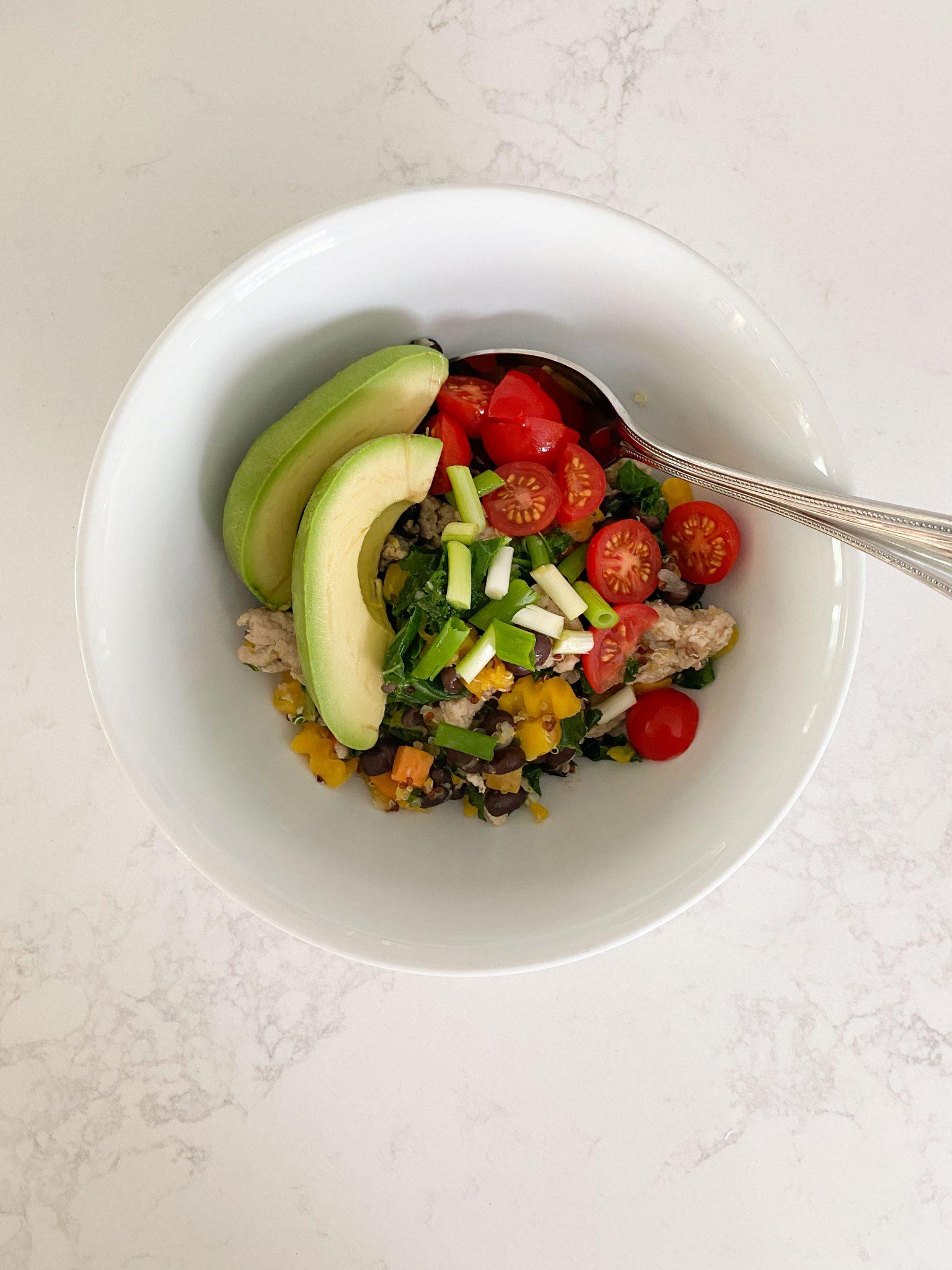 Quinoa Bowls healthy recipe