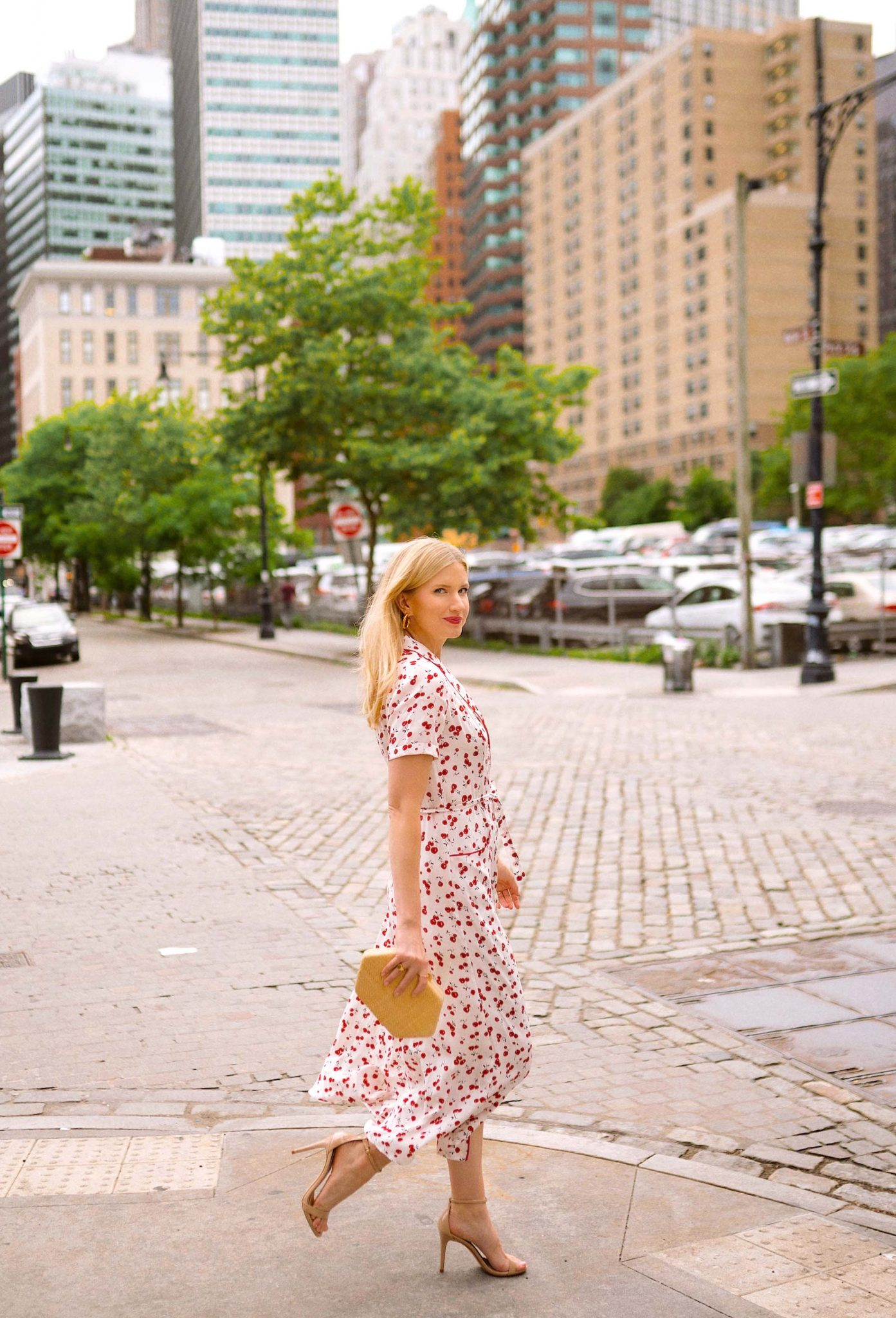 New York - Cherry Dress