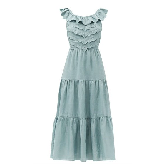 scalloped dress   Monday Morning Musings   No.166