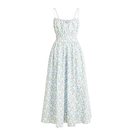 J.Crew Smocked Dress | Monday Morning Musings | No.167