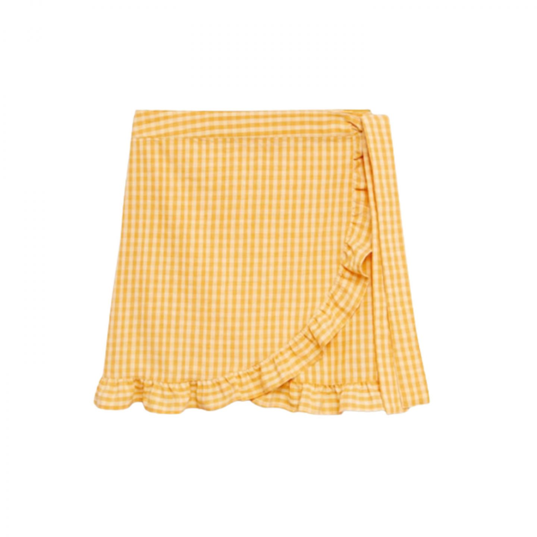 Wrap swim skirt