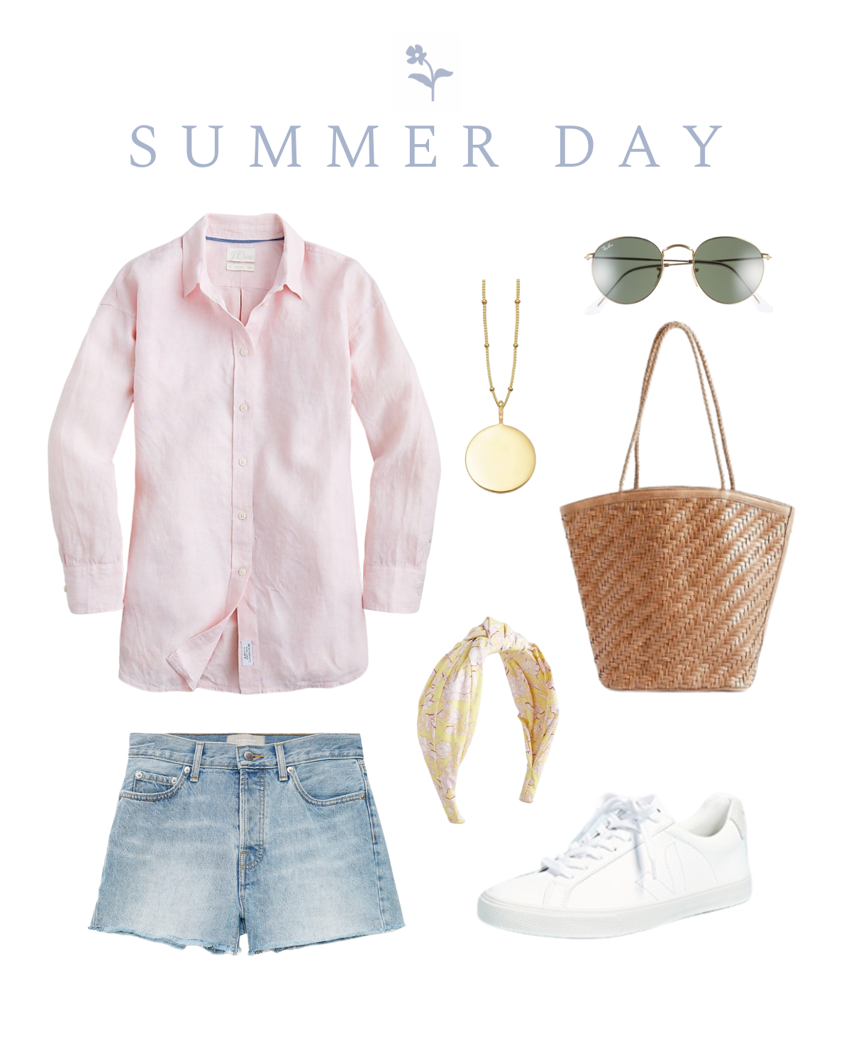 How To Style Pink Linen Button Down Three Ways