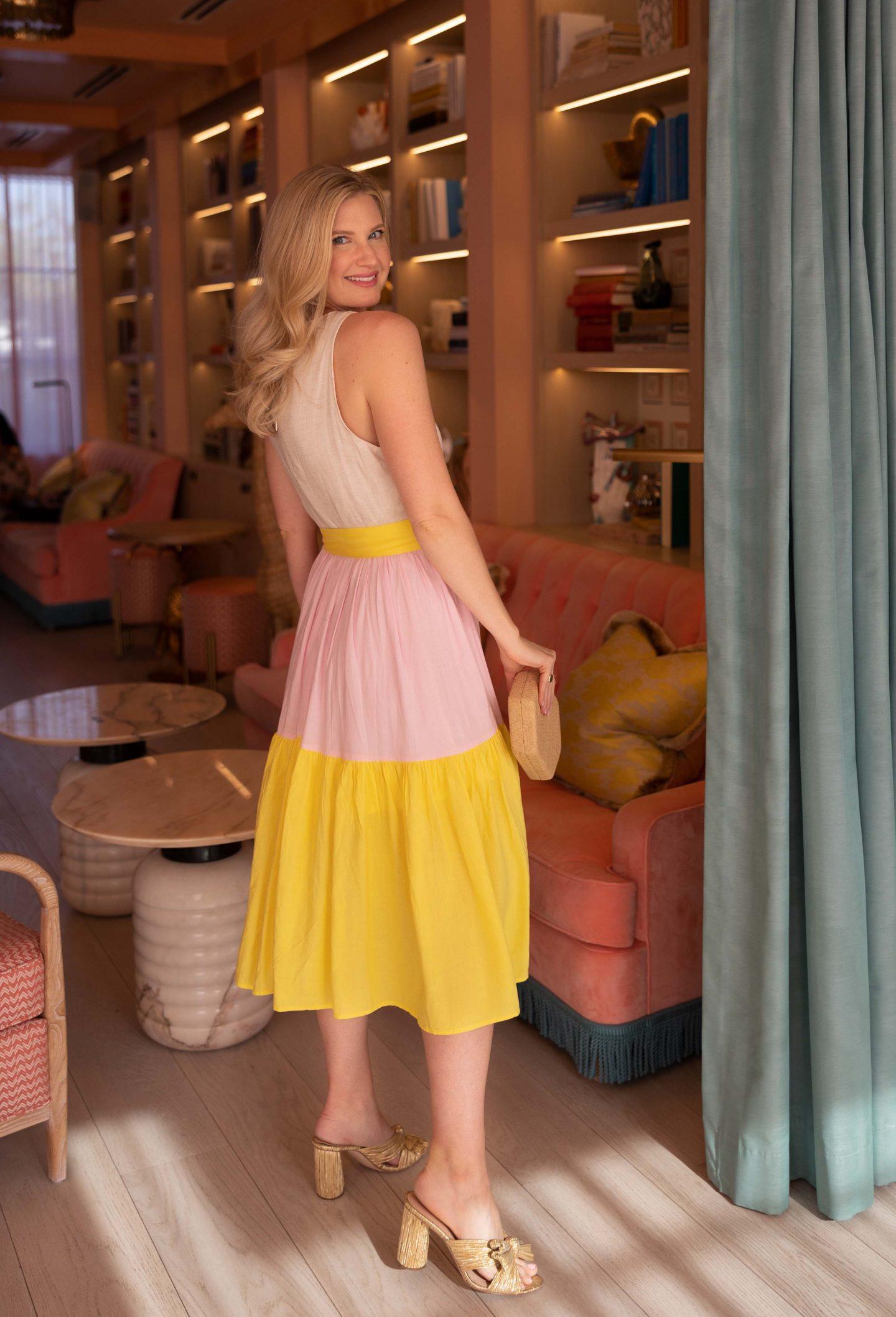 Abbey Glass Summer Dress