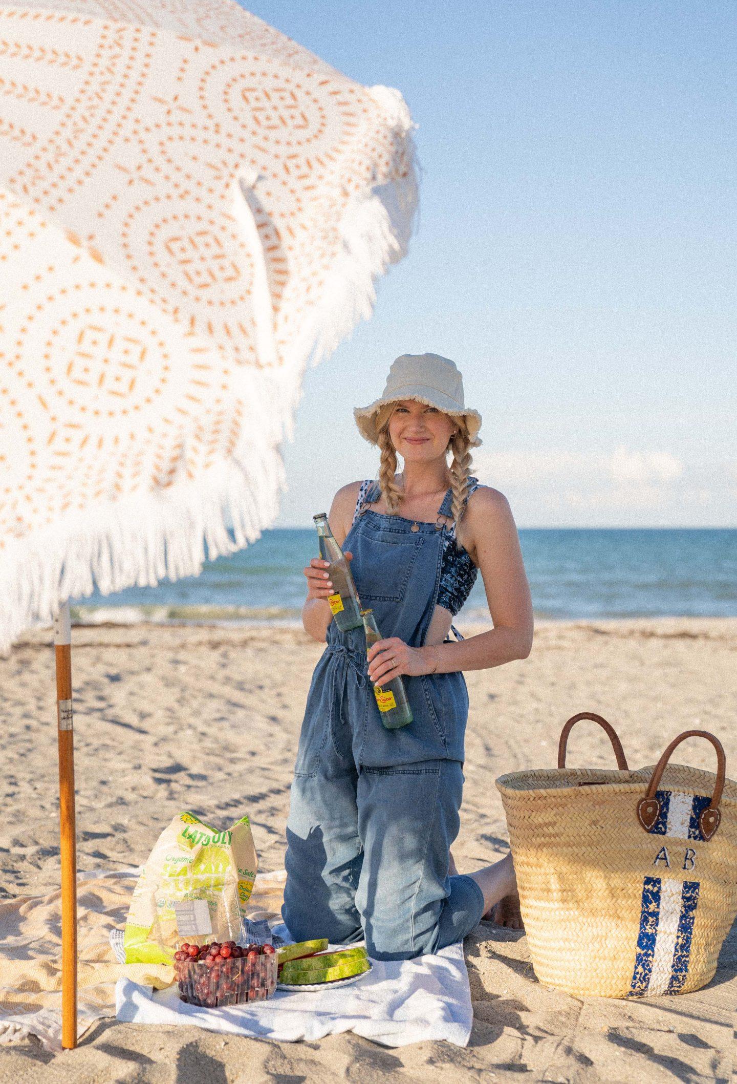 Impromptu Beach Picnic with Walmart+